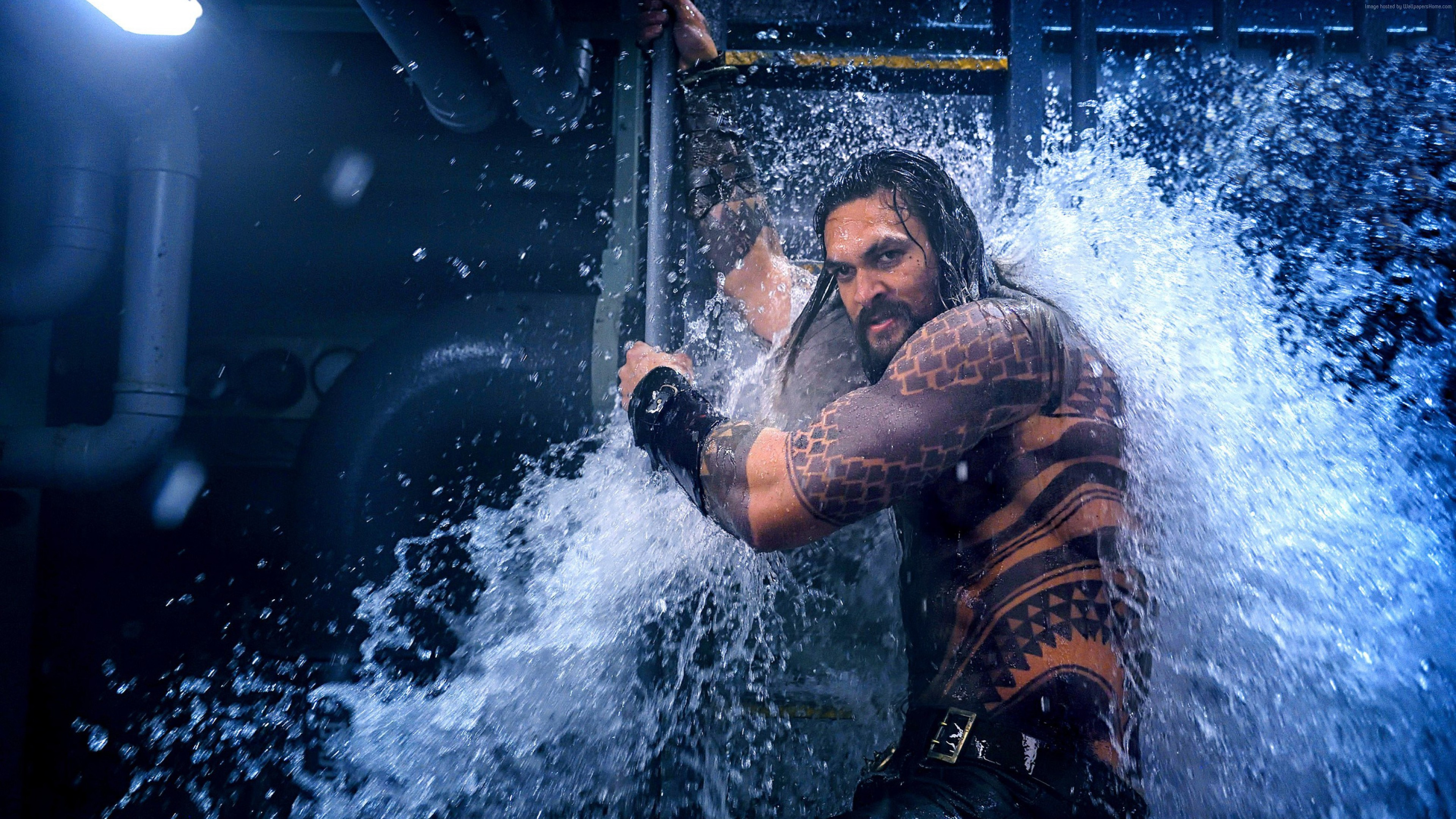 Wallpaper Aquaman, Jason Momoa, Movies