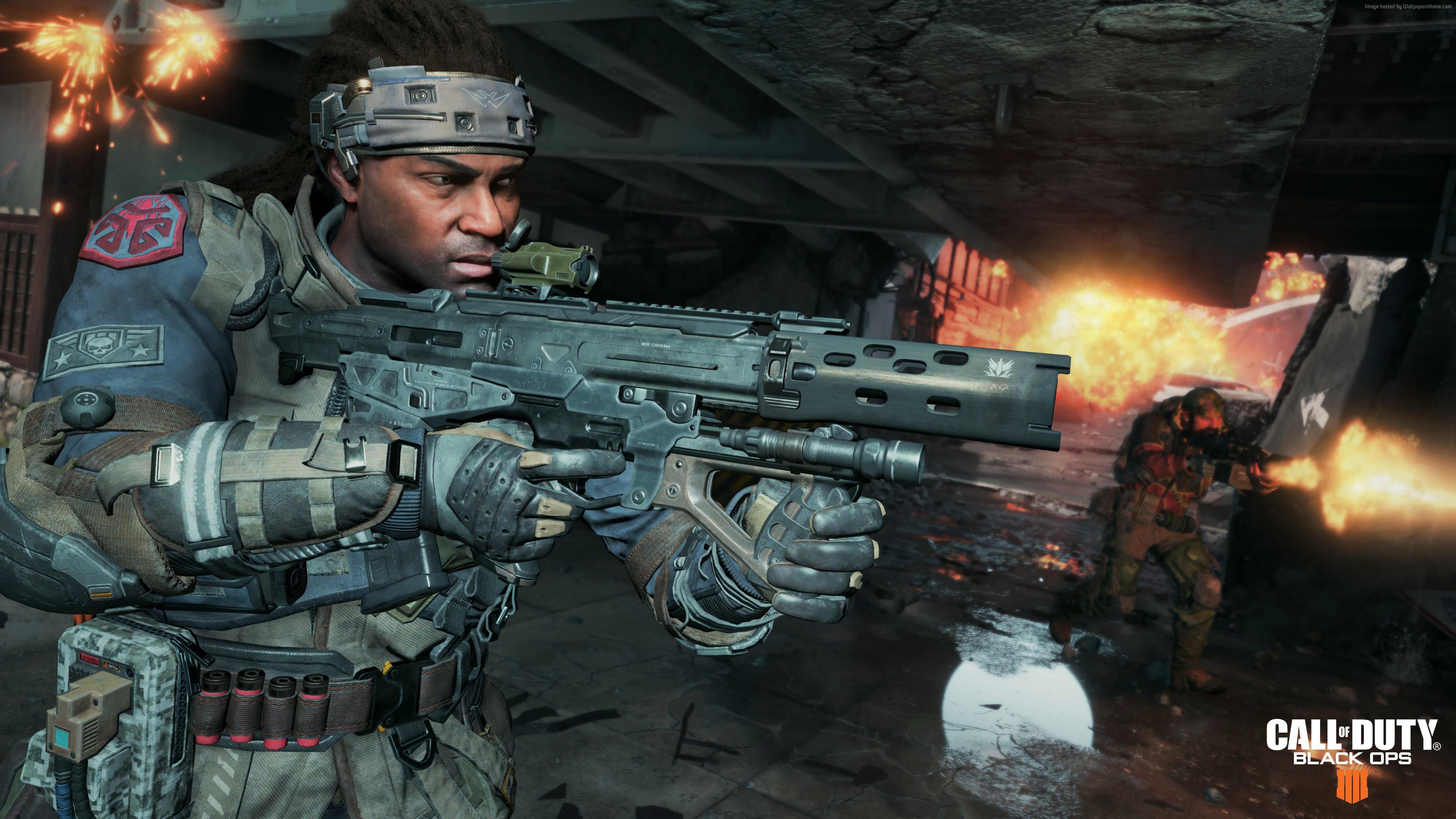 Wallpaper Call Of Duty Black Ops 4 Screenshot 4k Games