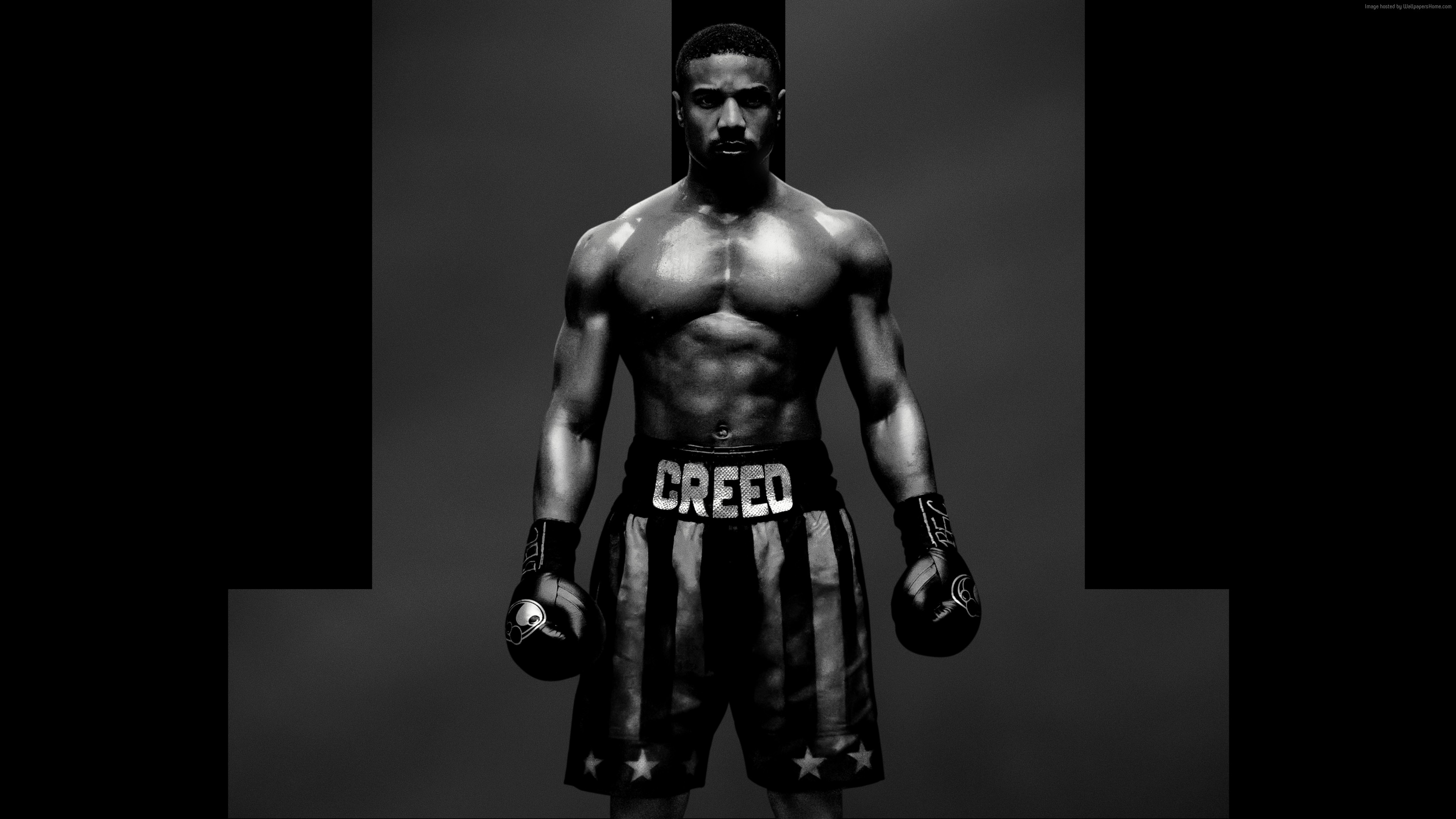 Wallpaper Creed 2, Adonis Johnson, poster, 7K, Movies