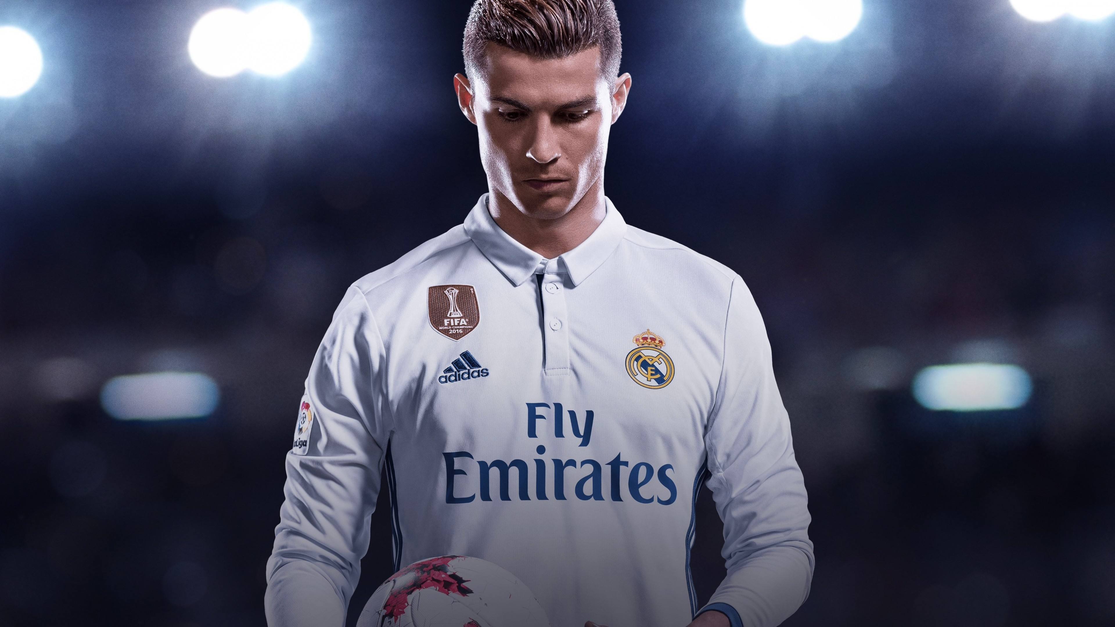 Wallpaper Cristiano Ronaldo, Portugal, Real Madrid, soccer, 4K, Sport