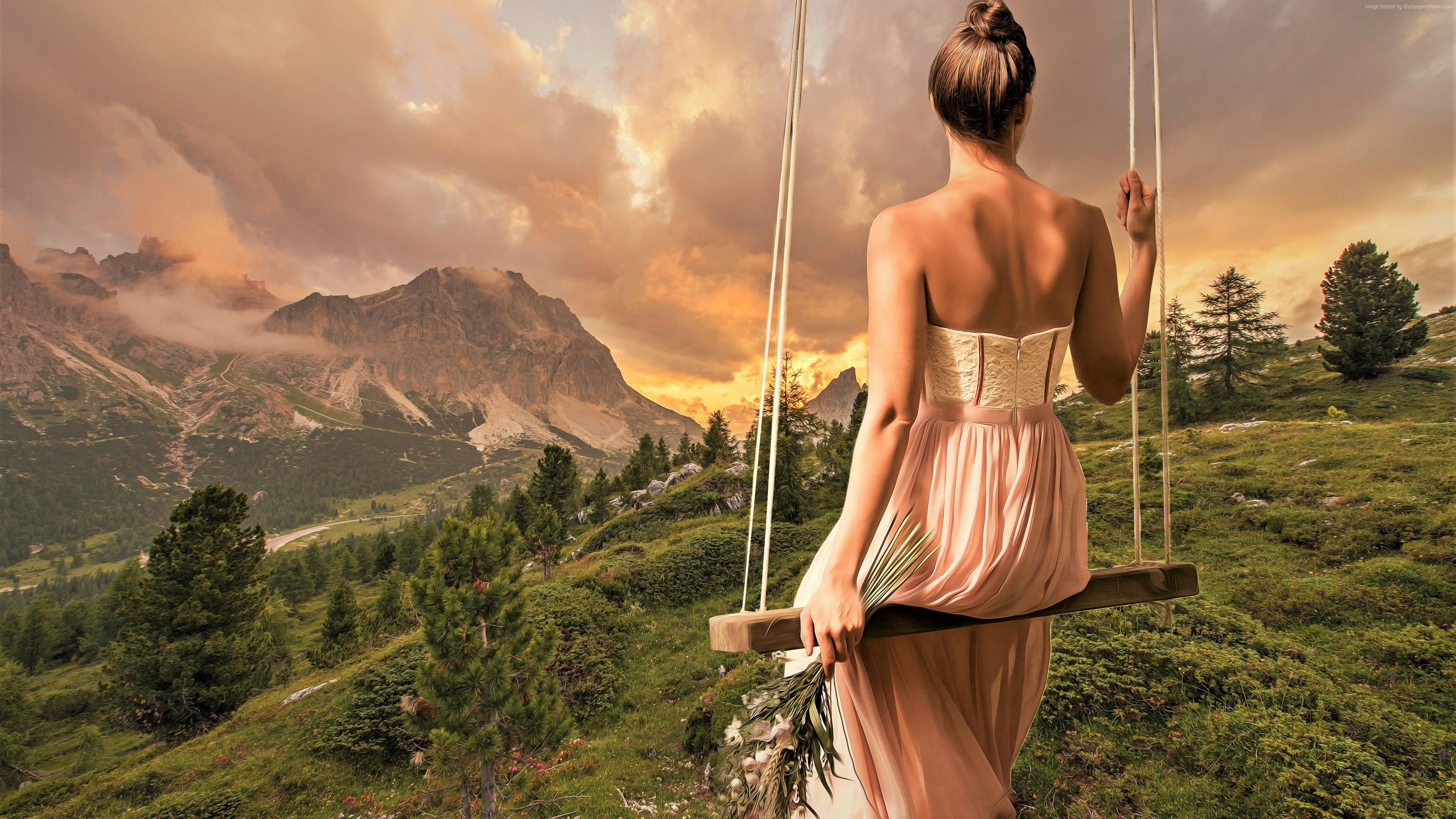 Wallpaper Girl Dress Beautiful 4k Girls Wallpaper Download High Resolution 4k Wallpaper