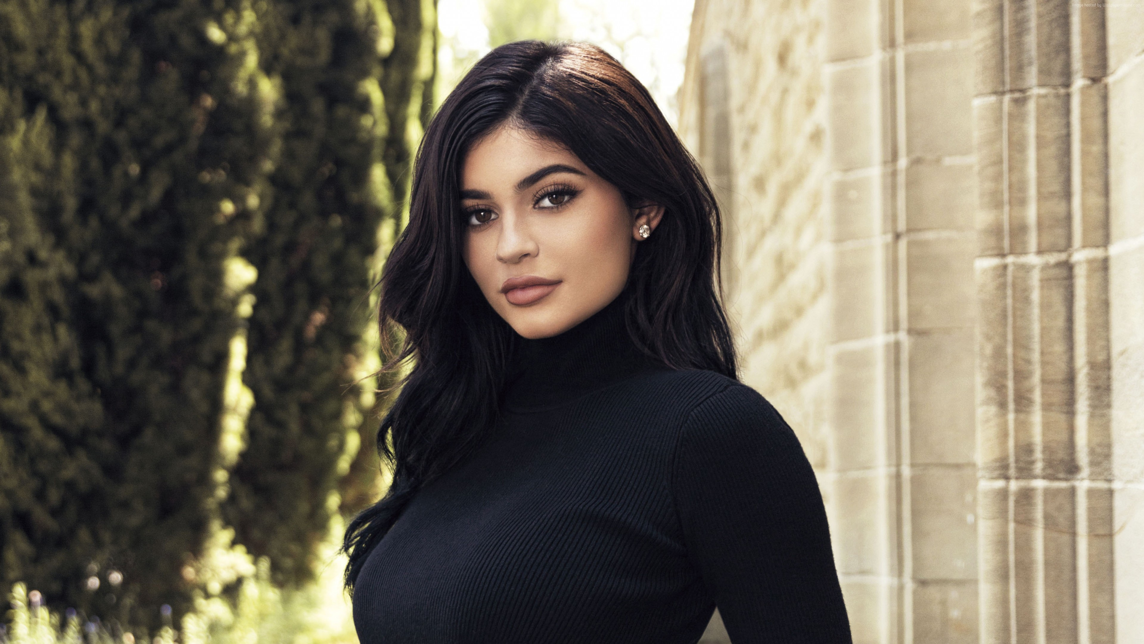 Wallpaper Kylie Jenner, beauty, 4K, Celebrities