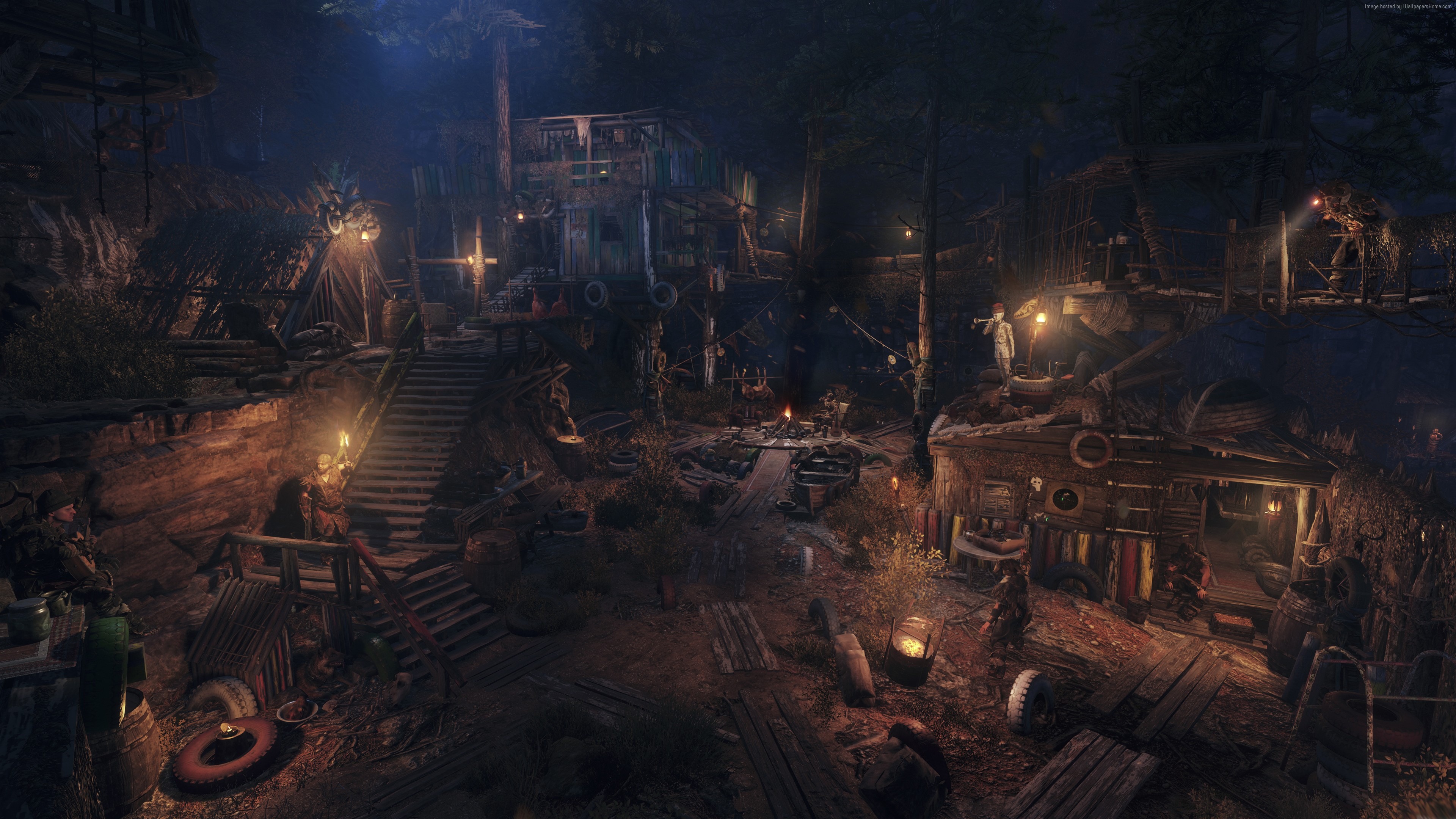 Wallpaper Metro Exodus, Gamescom 2018, screenshot, 4K ...