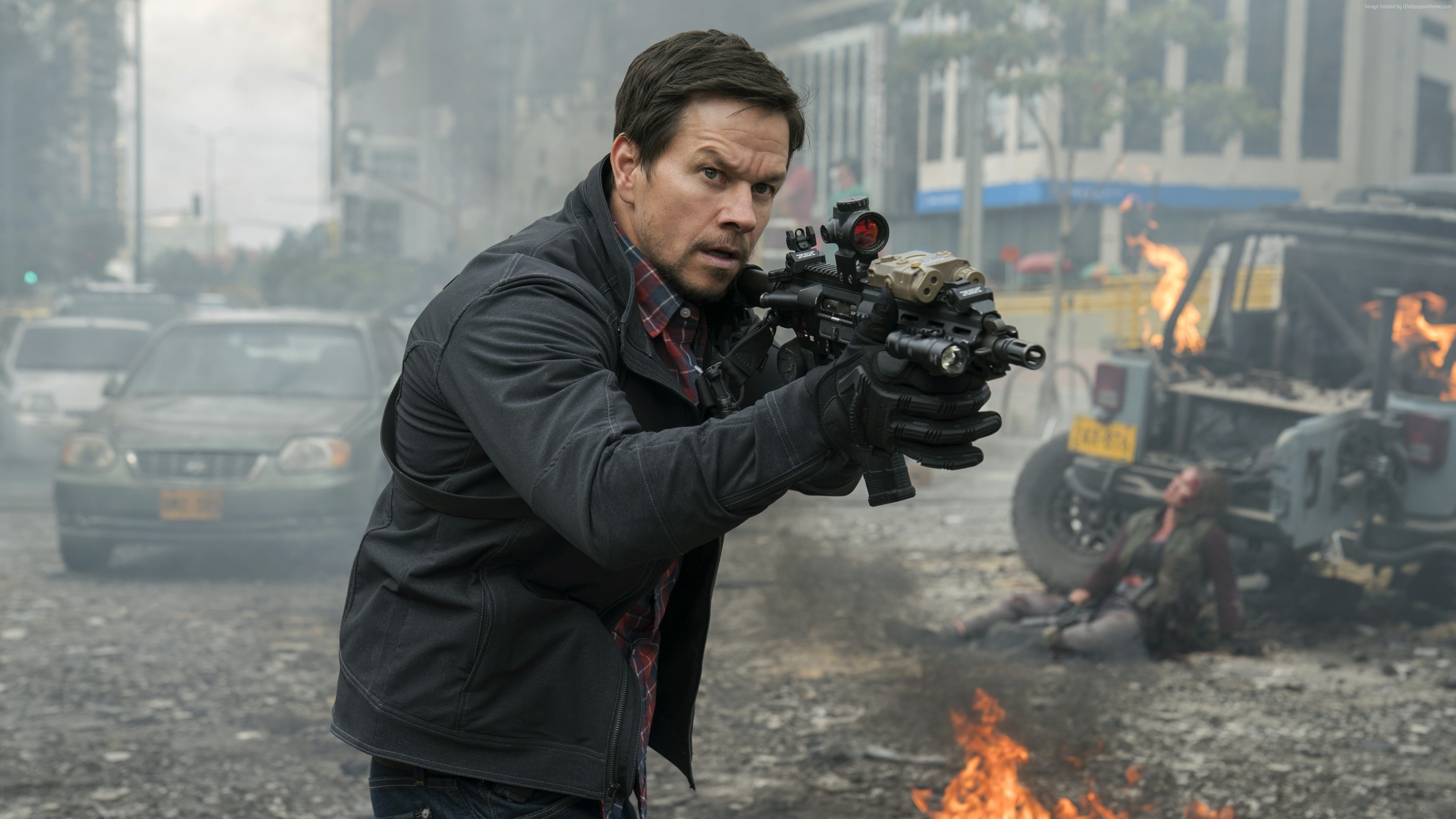 Wallpaper Mile 22, Mark Wahlberg, 4k, Movies