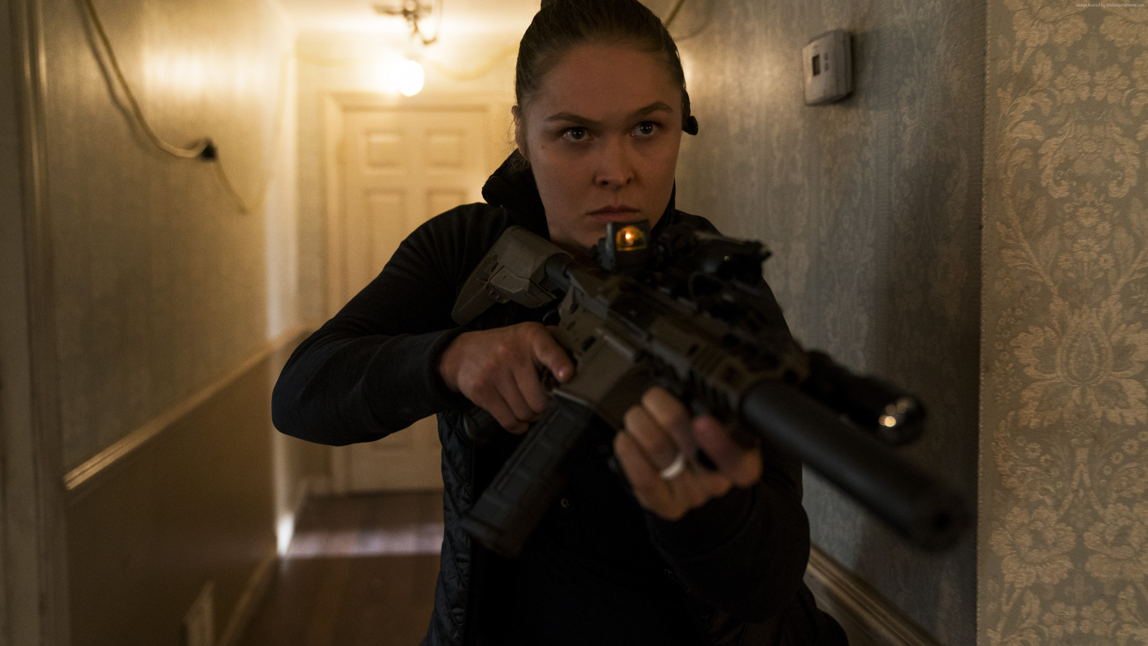 Wallpaper Mile 22, Ronda Rousey, 6k, Movies