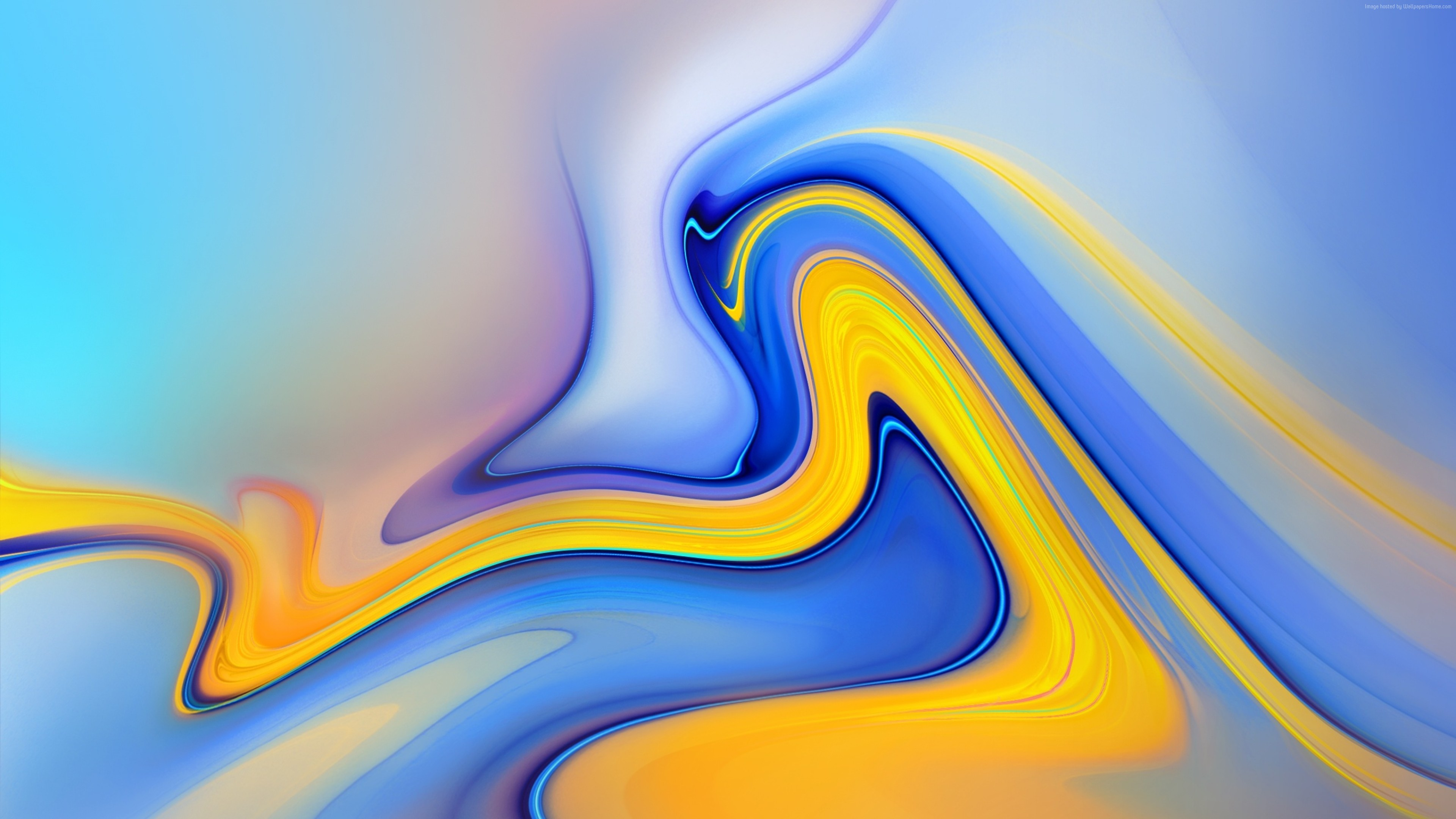 Wallpaper Samsung Galaxy Note 9, Android 8.0, Android Oreo, abstract, colorful, OS