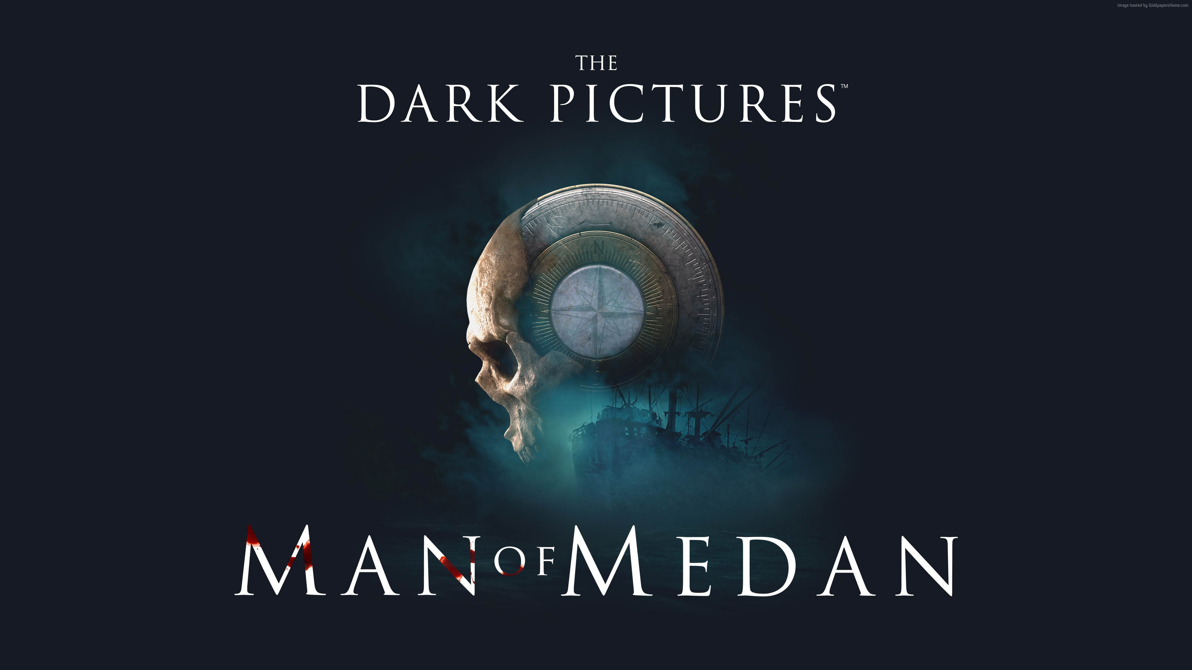 Wallpaper The Dark Pictures – Man of Medan, Gamescom 2018, poster, 4K, Games