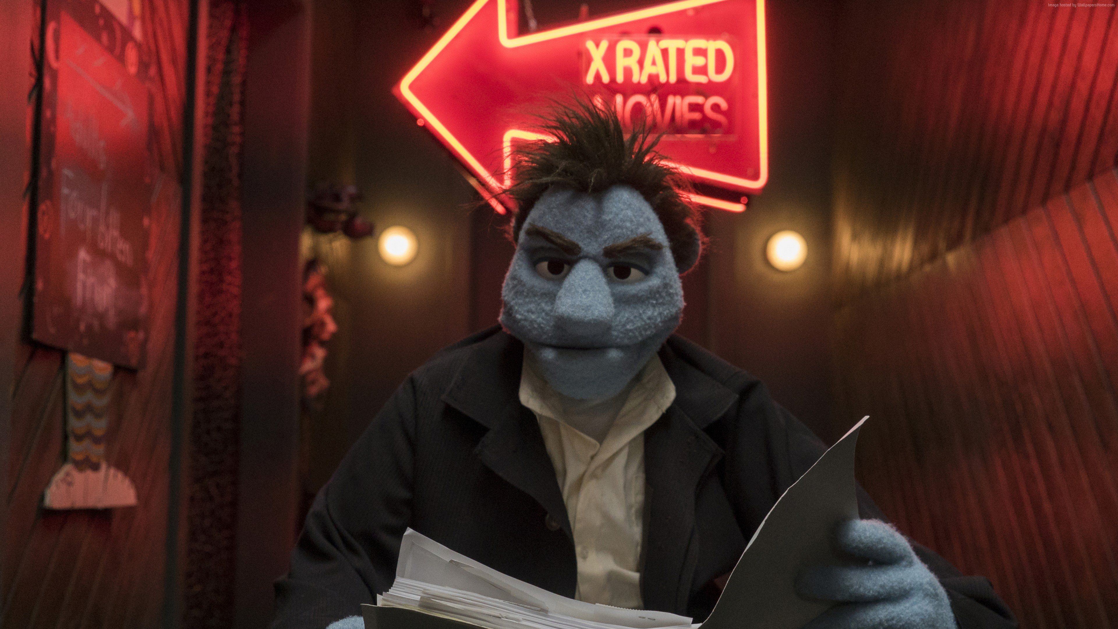 Wallpaper The Happytime Murders, 4K, Movies