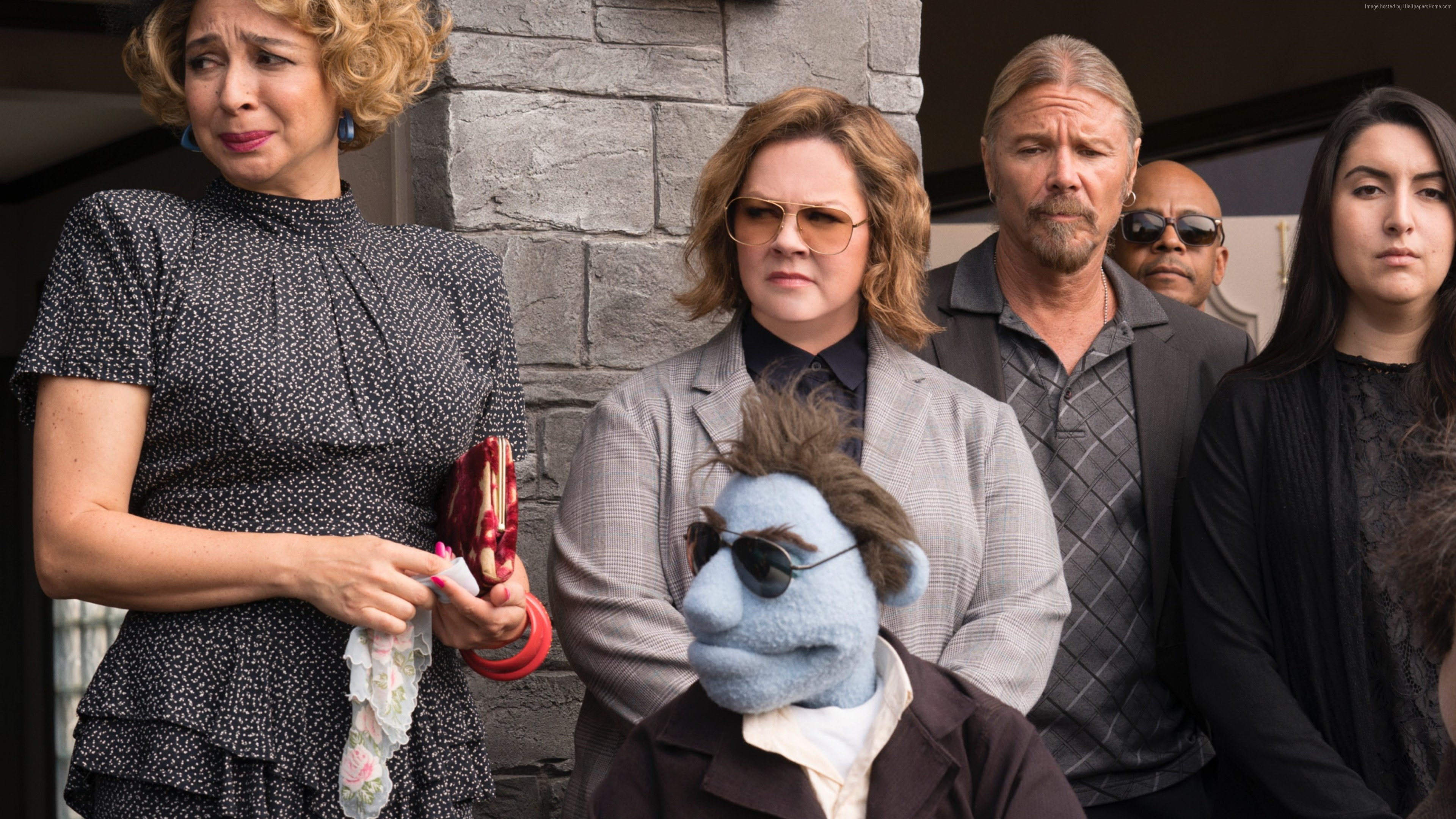 Wallpaper The Happytime Murders, Melissa McCarthy, 4K, Movies