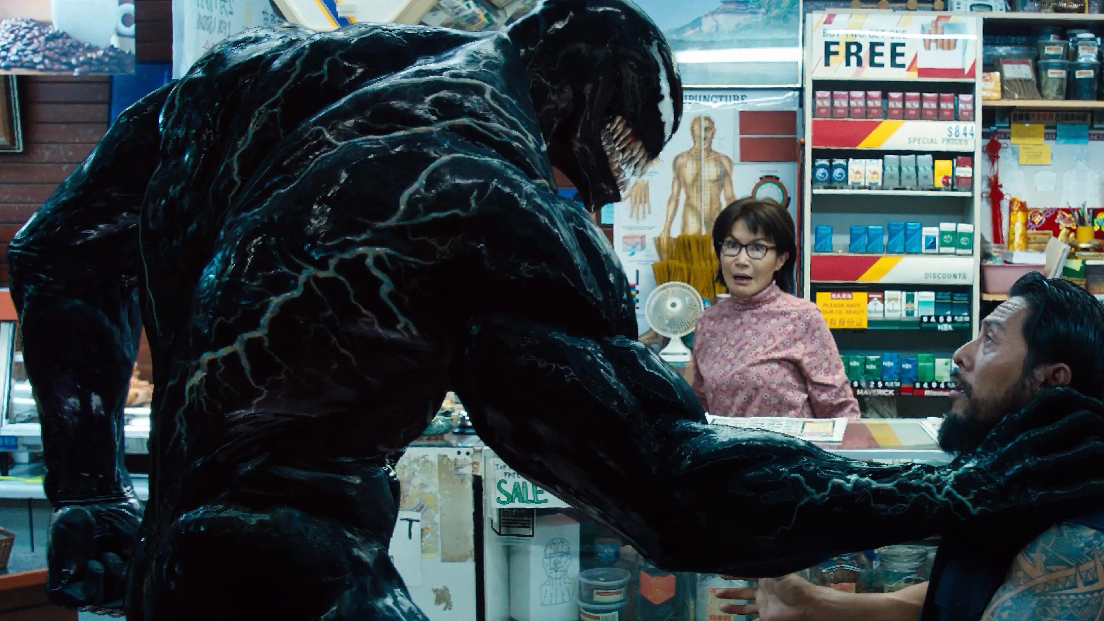 2048x2048 Venom 2018 Movie 4k Ipad Air Hd 4k Wallpapers: Wallpaper Venom, Tom Hardy, 4K, Movies 4k, Tom Hardy