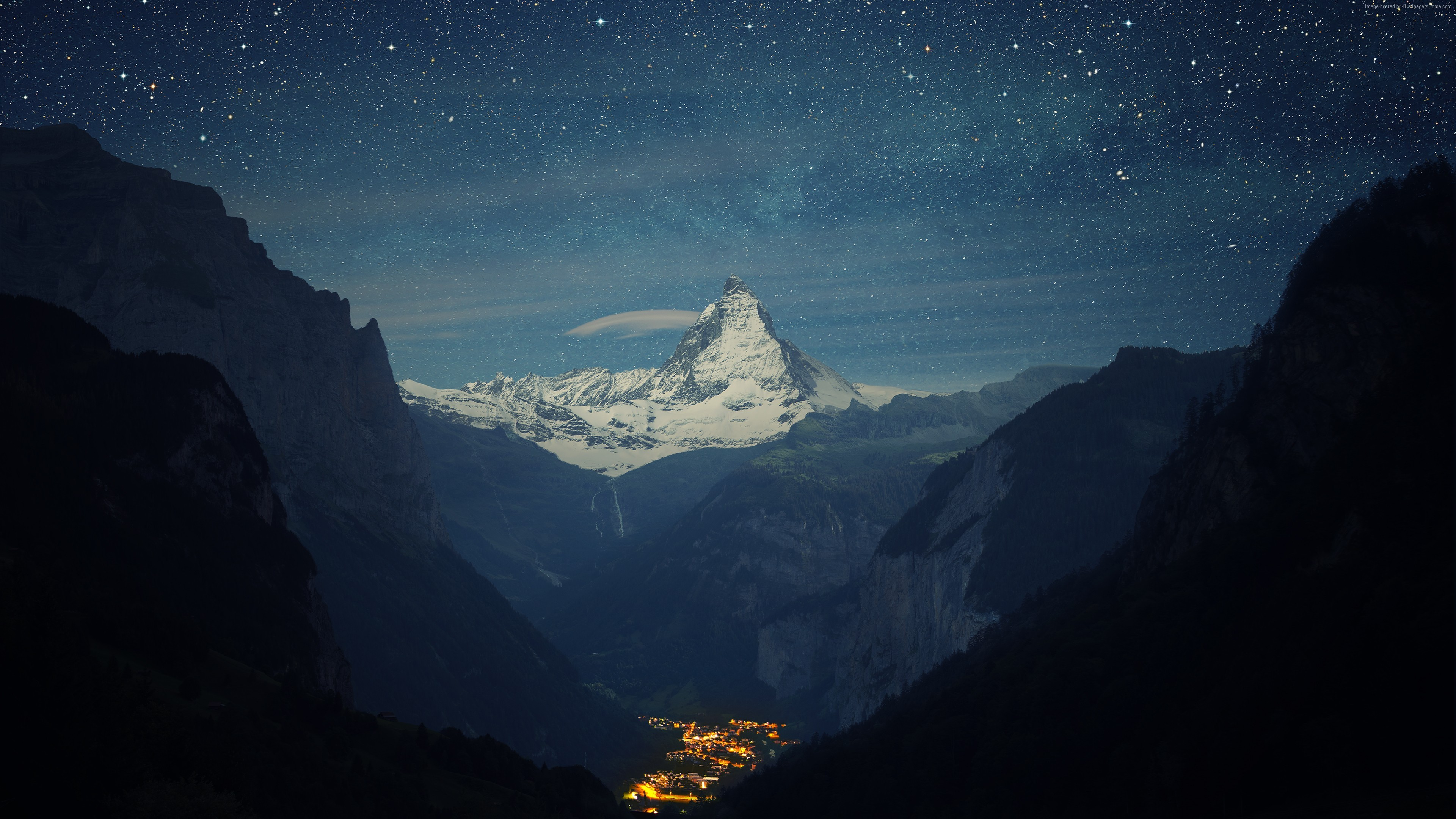 Wallpaper Zermatt-Matterhorn, Switzerland, Europe, 4K, Travel