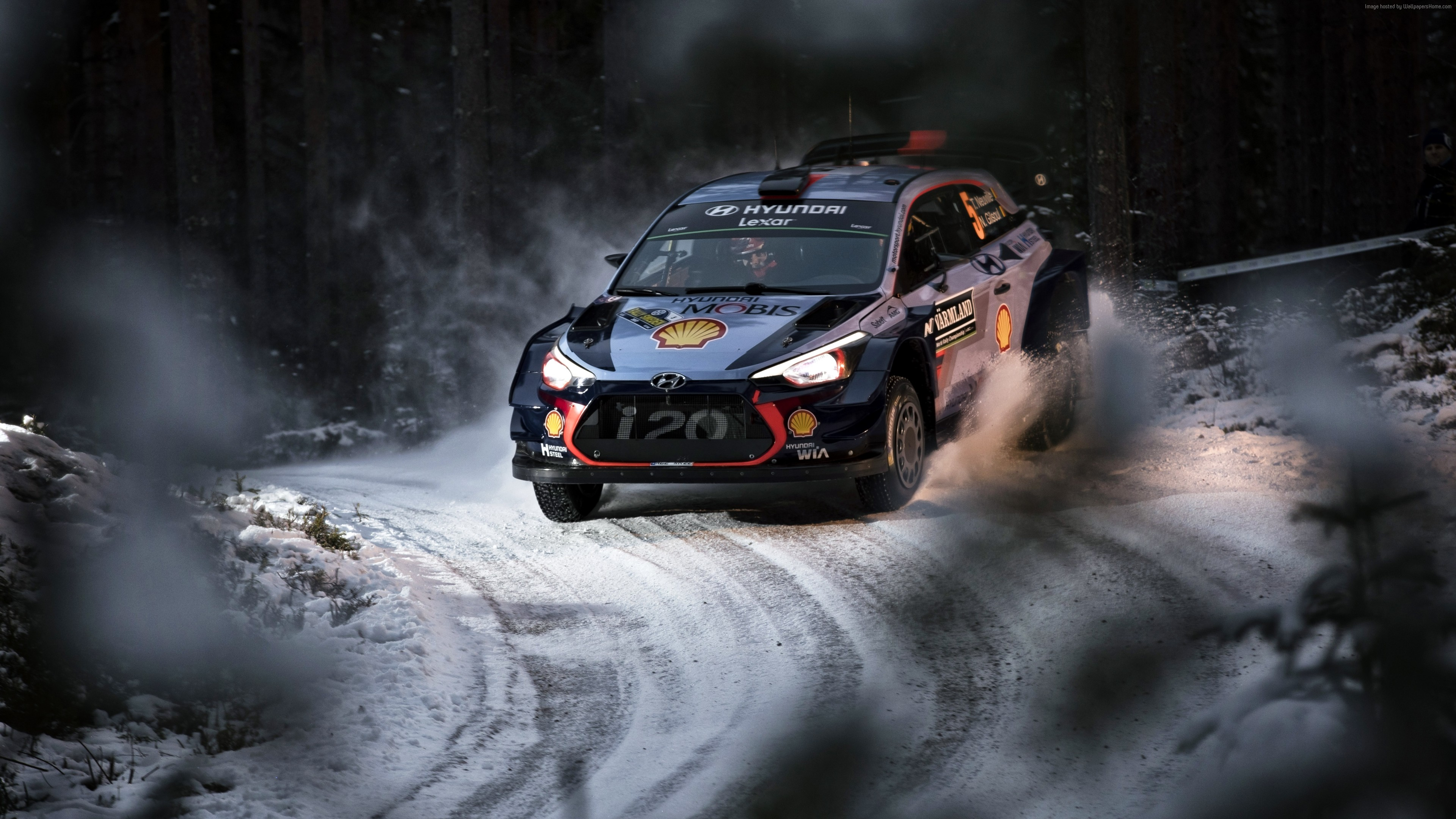 Wallpaper rally, winter, snow, 6K, Sport