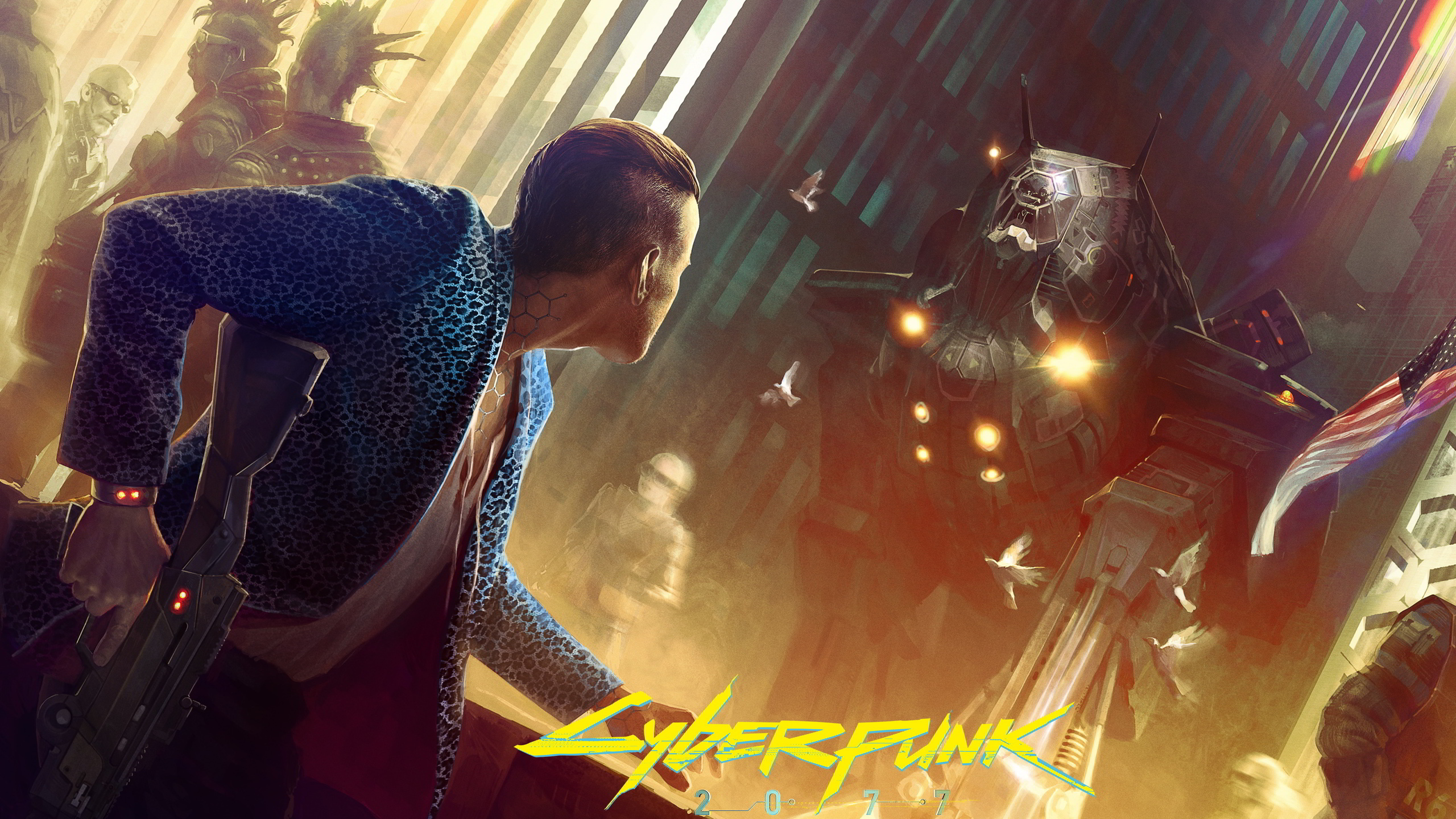 cyberpunk 2077 game hd