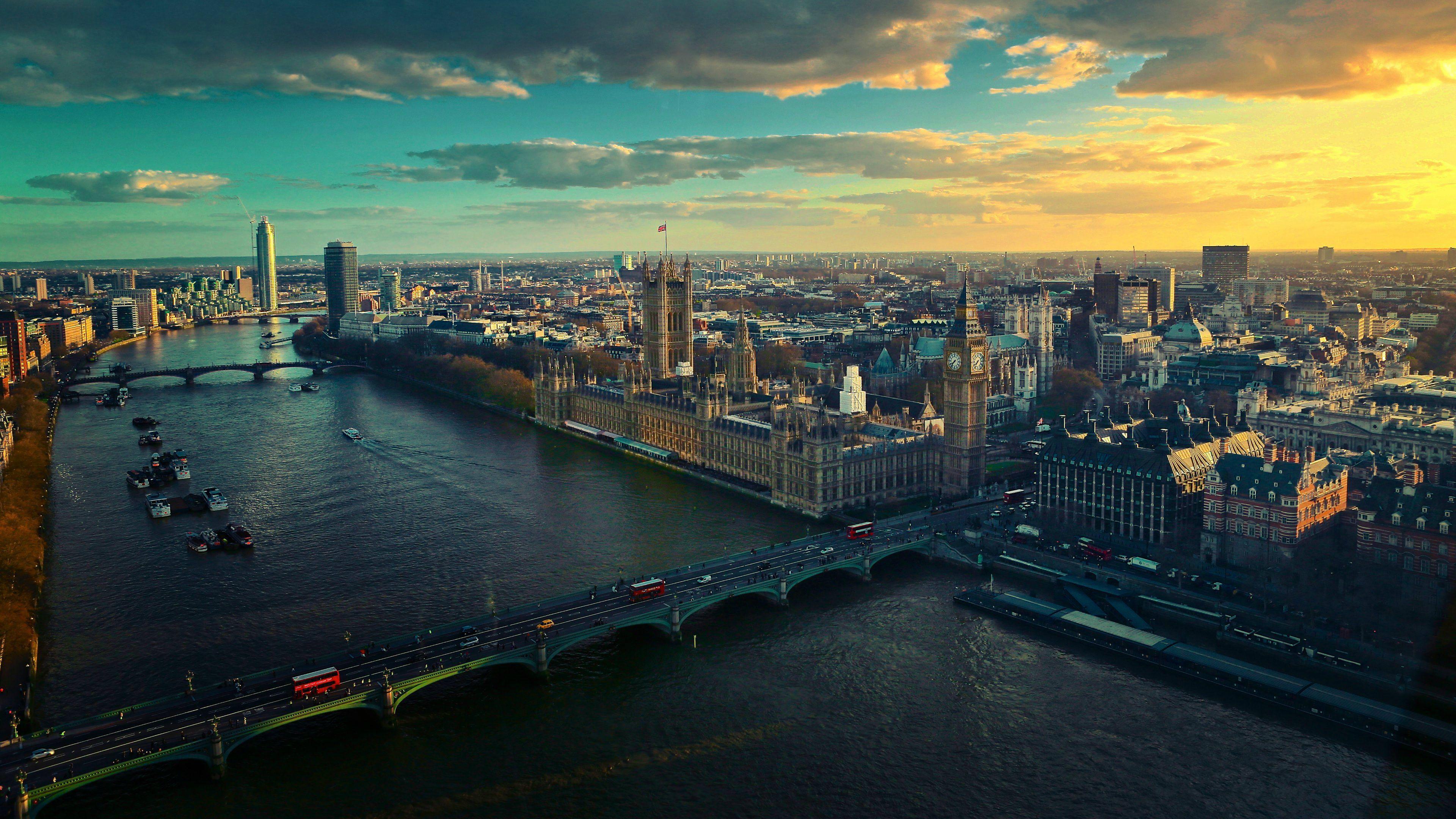 London UK 4K UHD 3840×2160 Wallpaper Wide