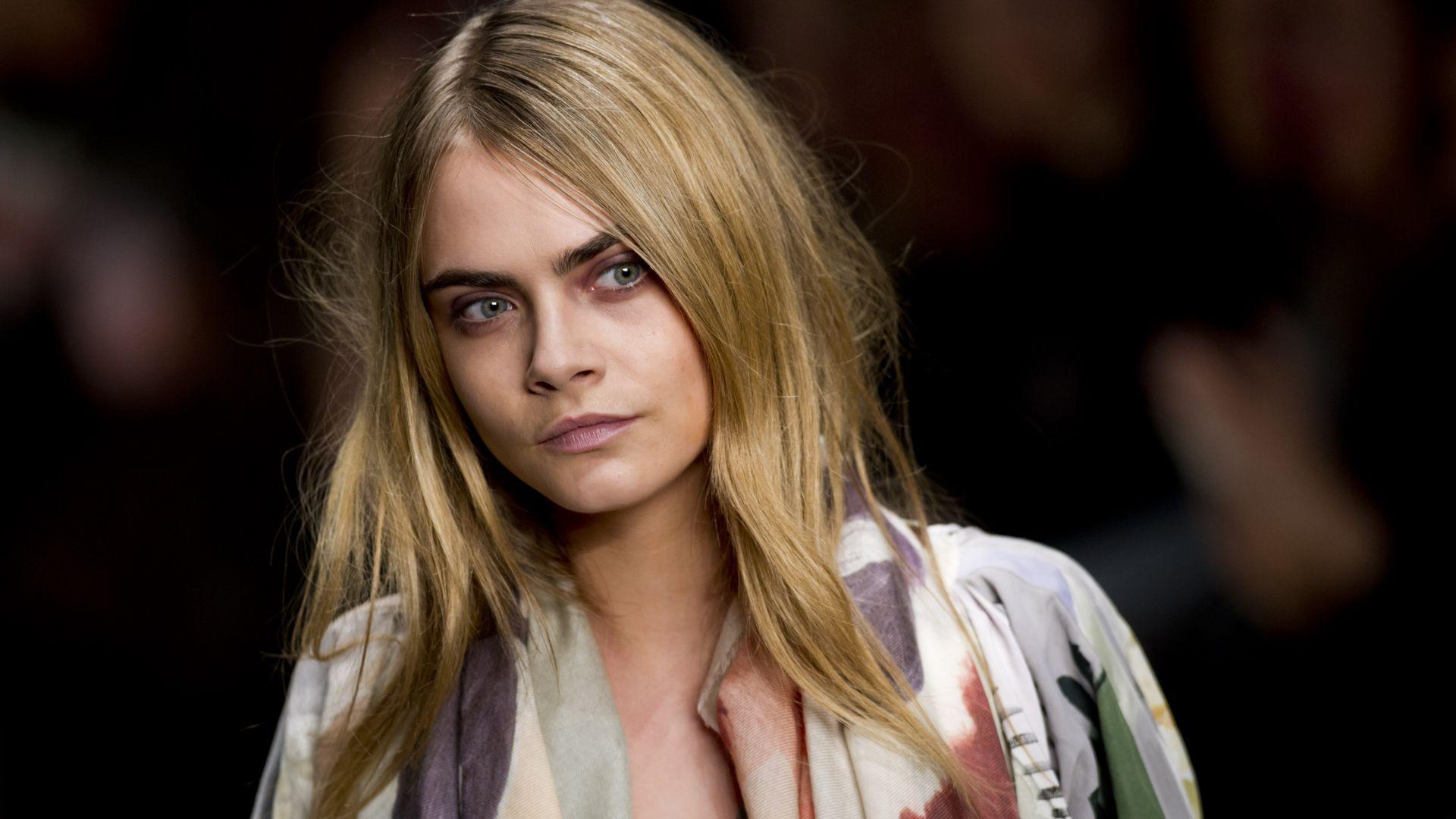 Wallpaper Cara Delevingne, Top Fashion Models, 4K, Celebrities