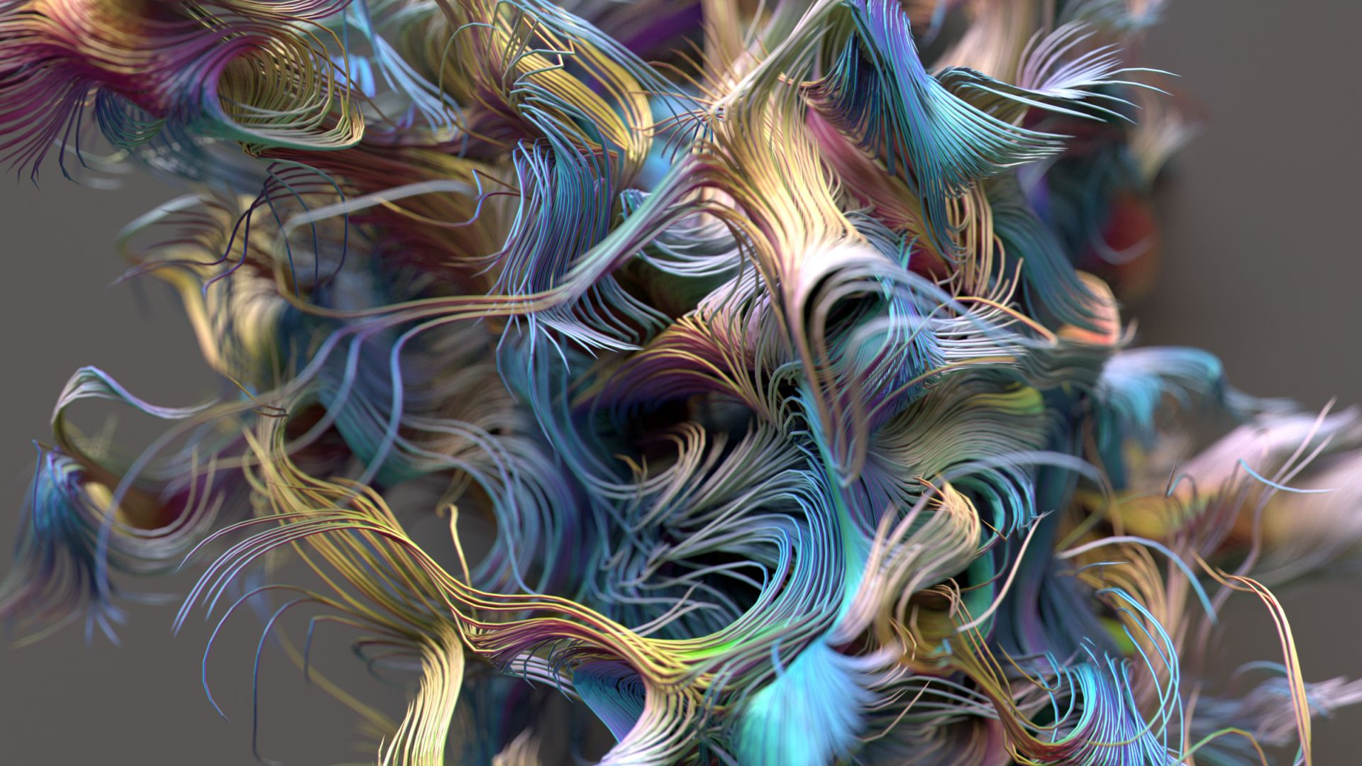 abstract iPhone wallpaper 4k 5k lines 3D