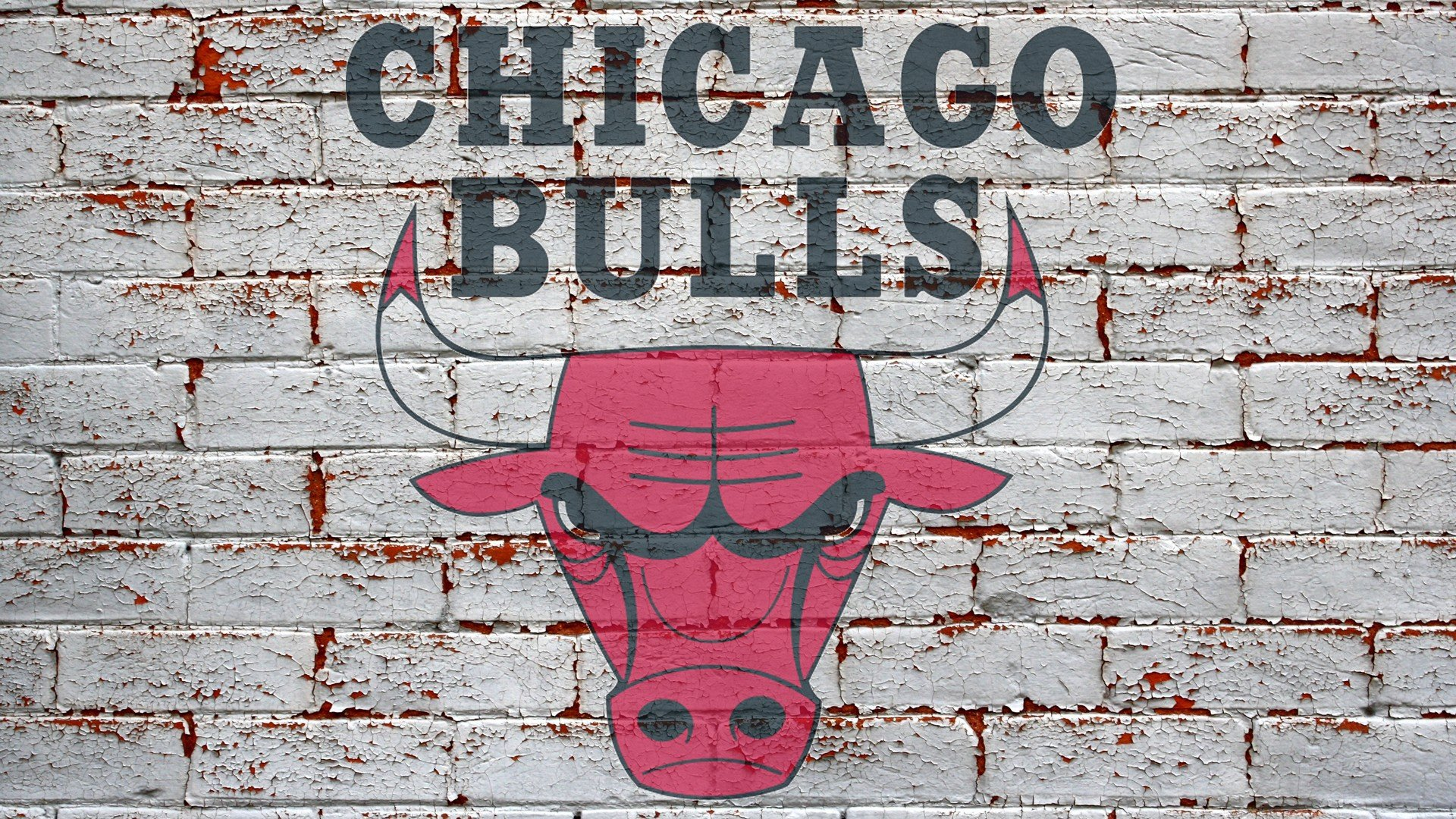 nba red wallpaper background brick bulls chicago