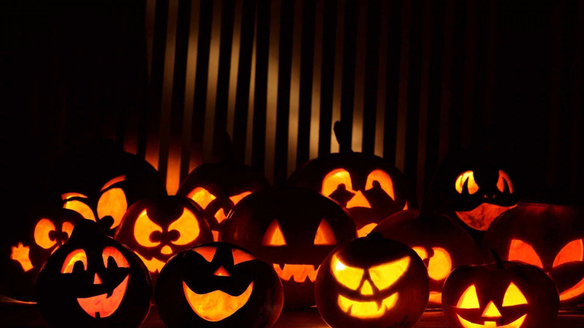HD Happy Halloween Desktop Background