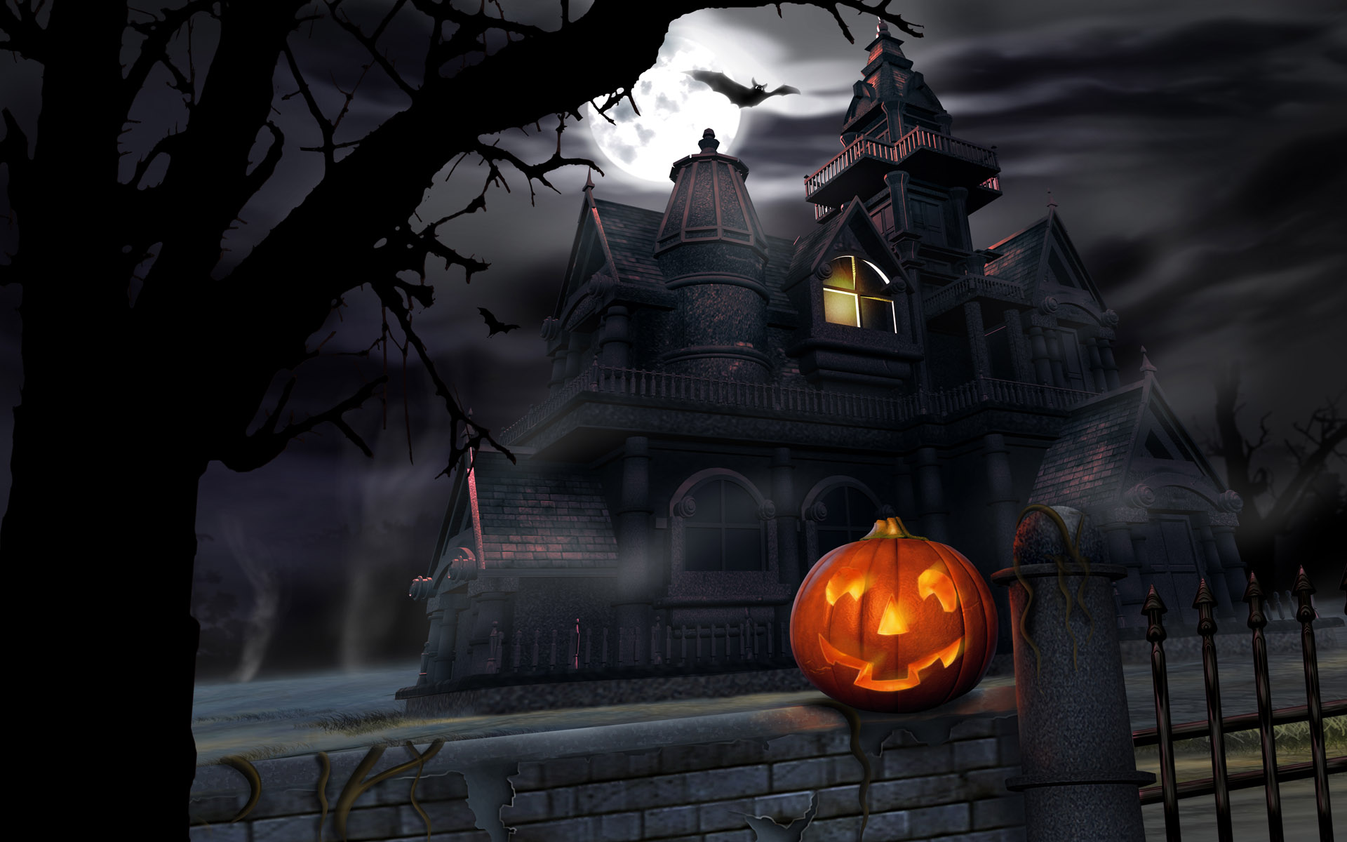 Haunted House Halloween Wallpapers
