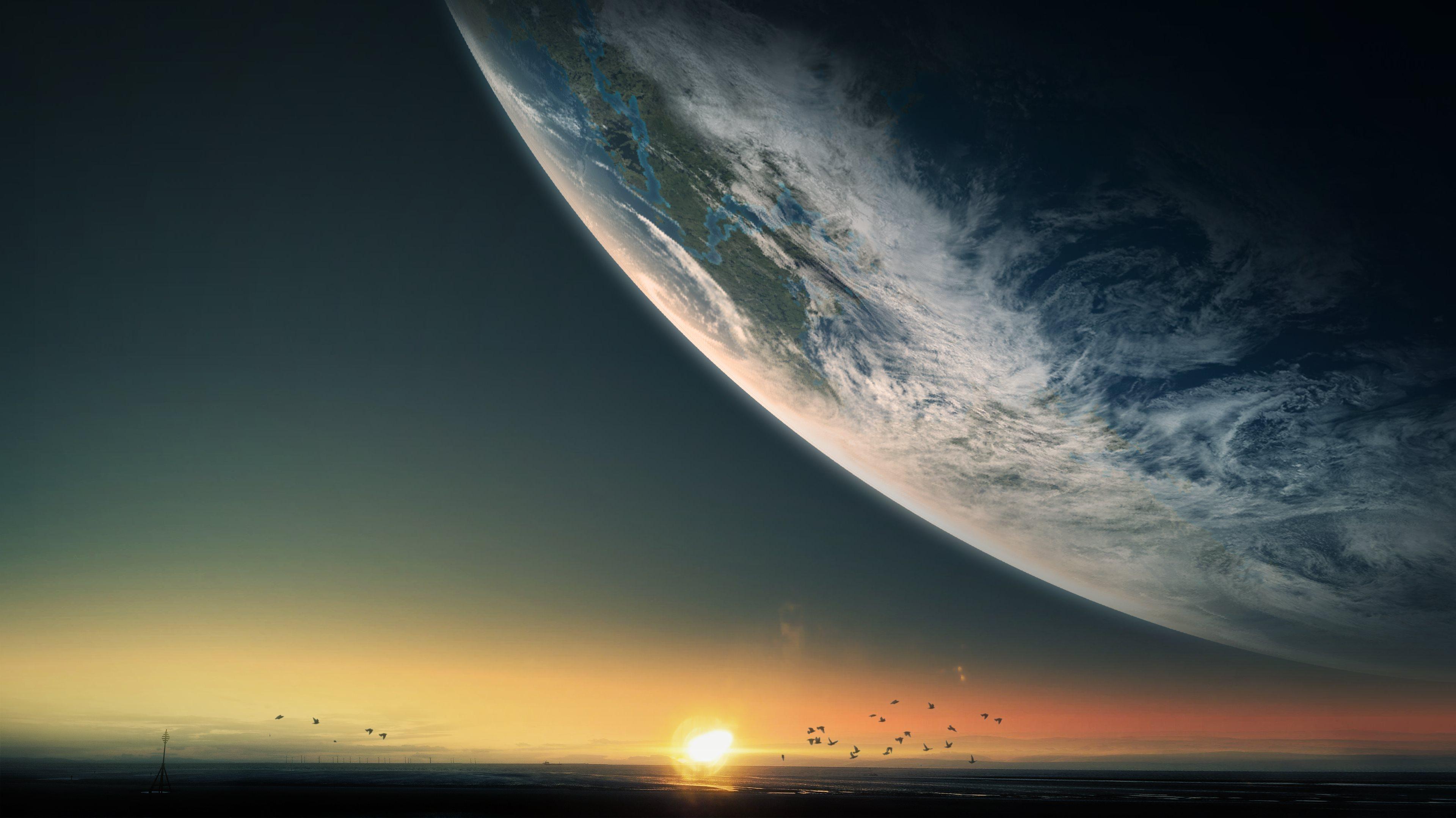 Planet 4k Ultra HD Wallpaper