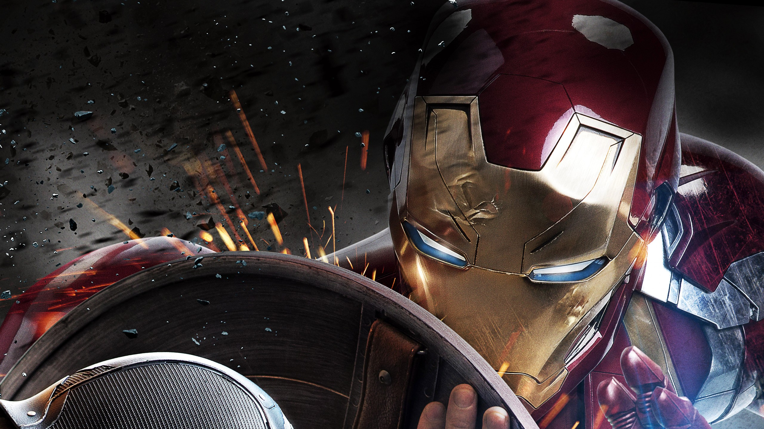 Wallpaper Iron Man 4K 8K Movies