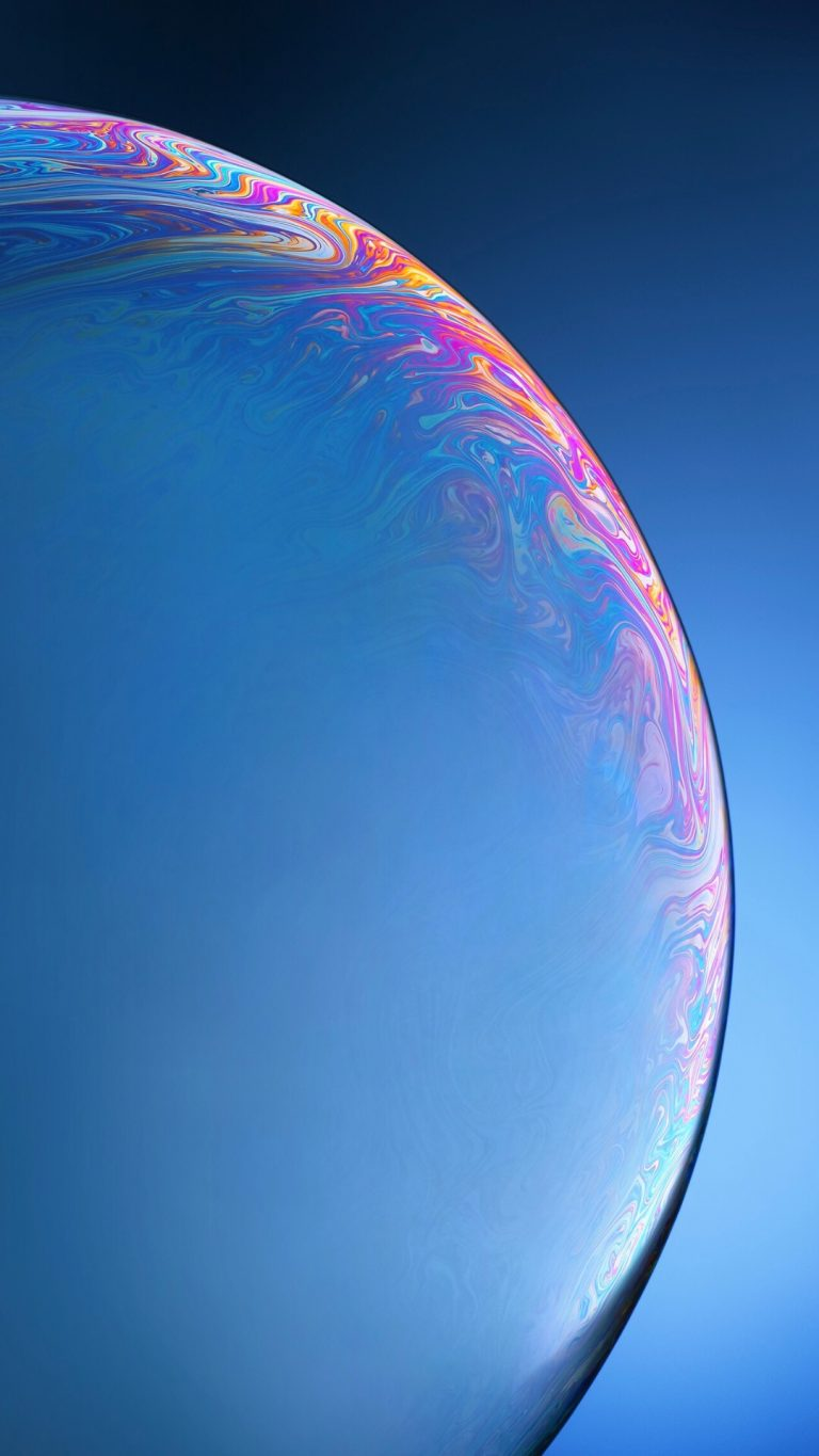 iPhone Xr variant wallpaper blue