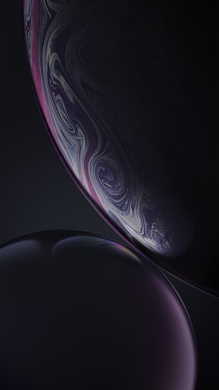 iPhone Xr wallpaper black