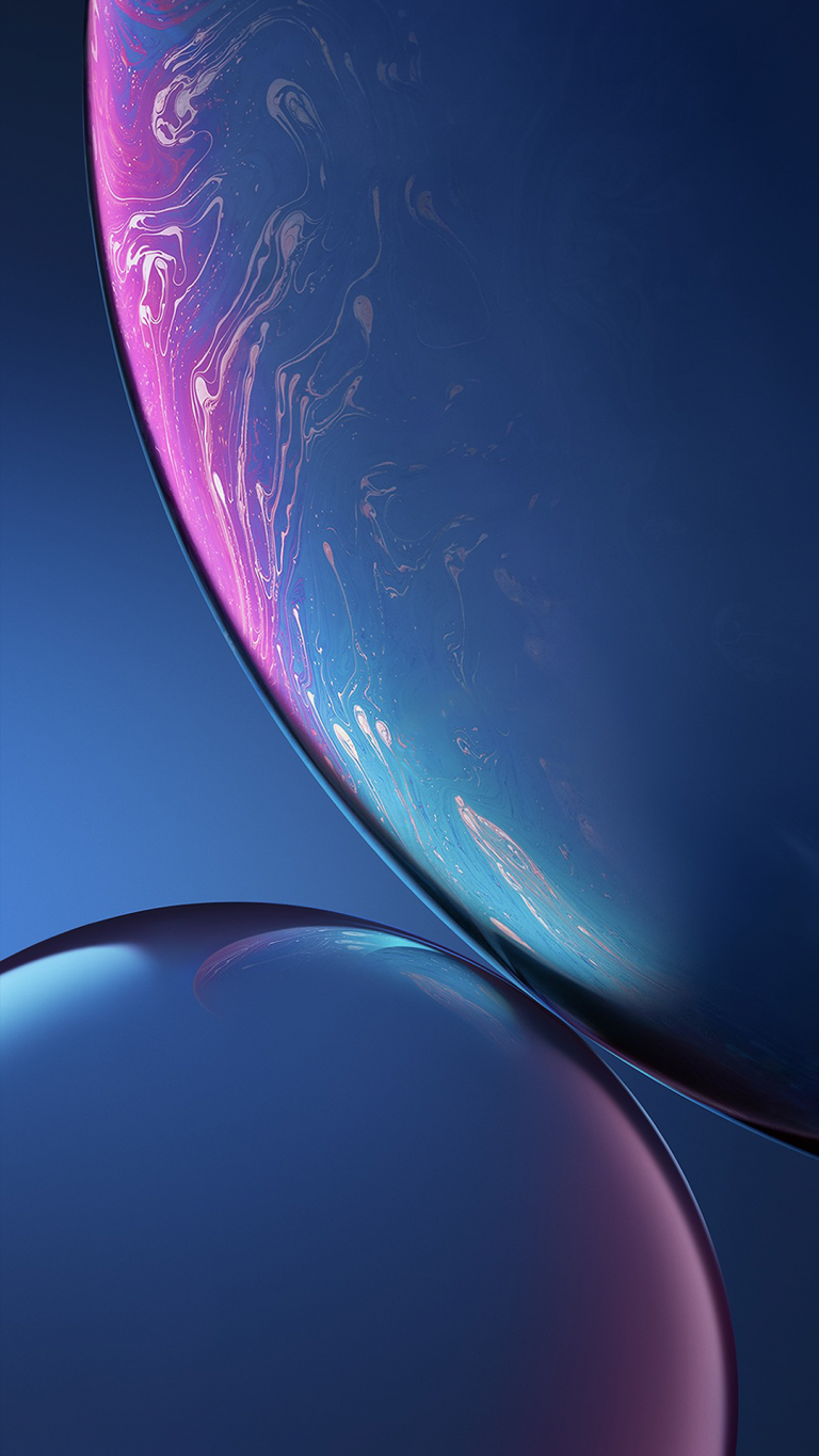 iPhone Xr wallpaper blue
