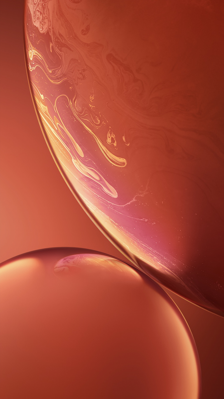 iPhone Xr wallpaper coral iOS, iphone, iPhone X wallpaper ...