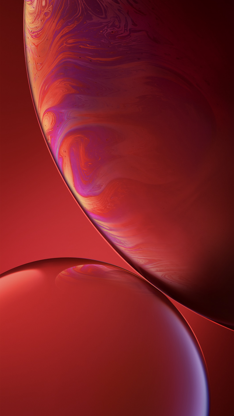 iPhone Xr wallpaper red