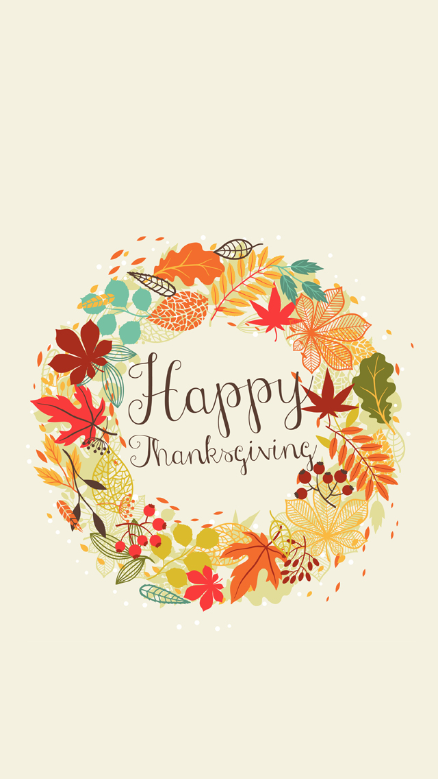 Best Thanksgiving Wallpapers iPhone