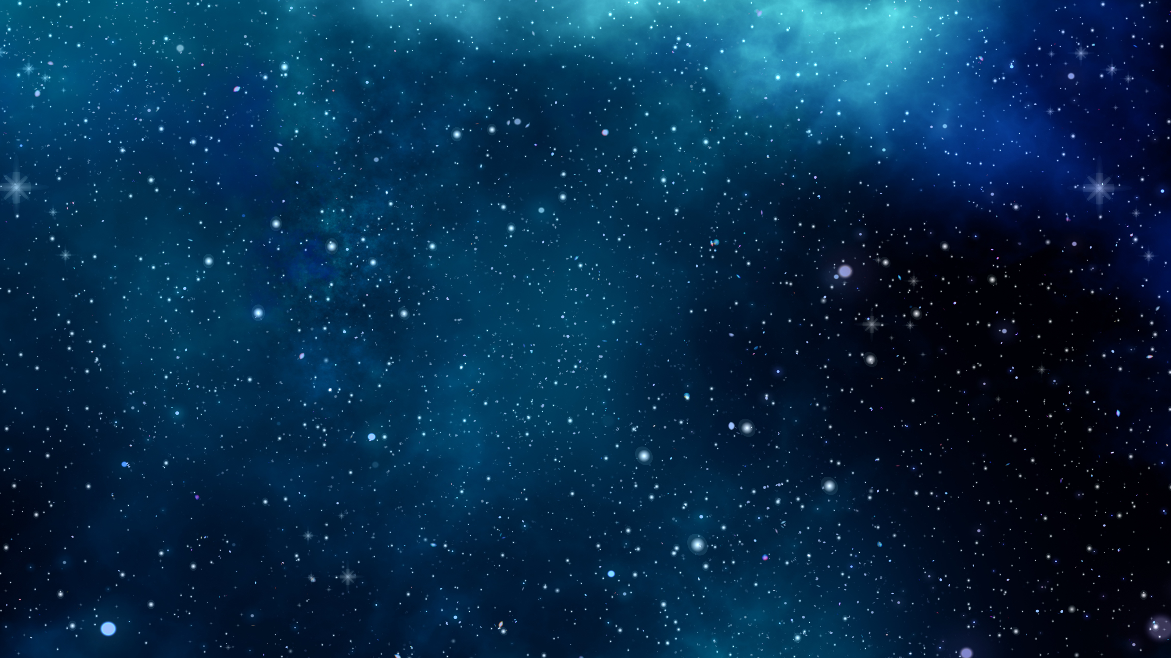 Blue Space 4K Wallpaper Download