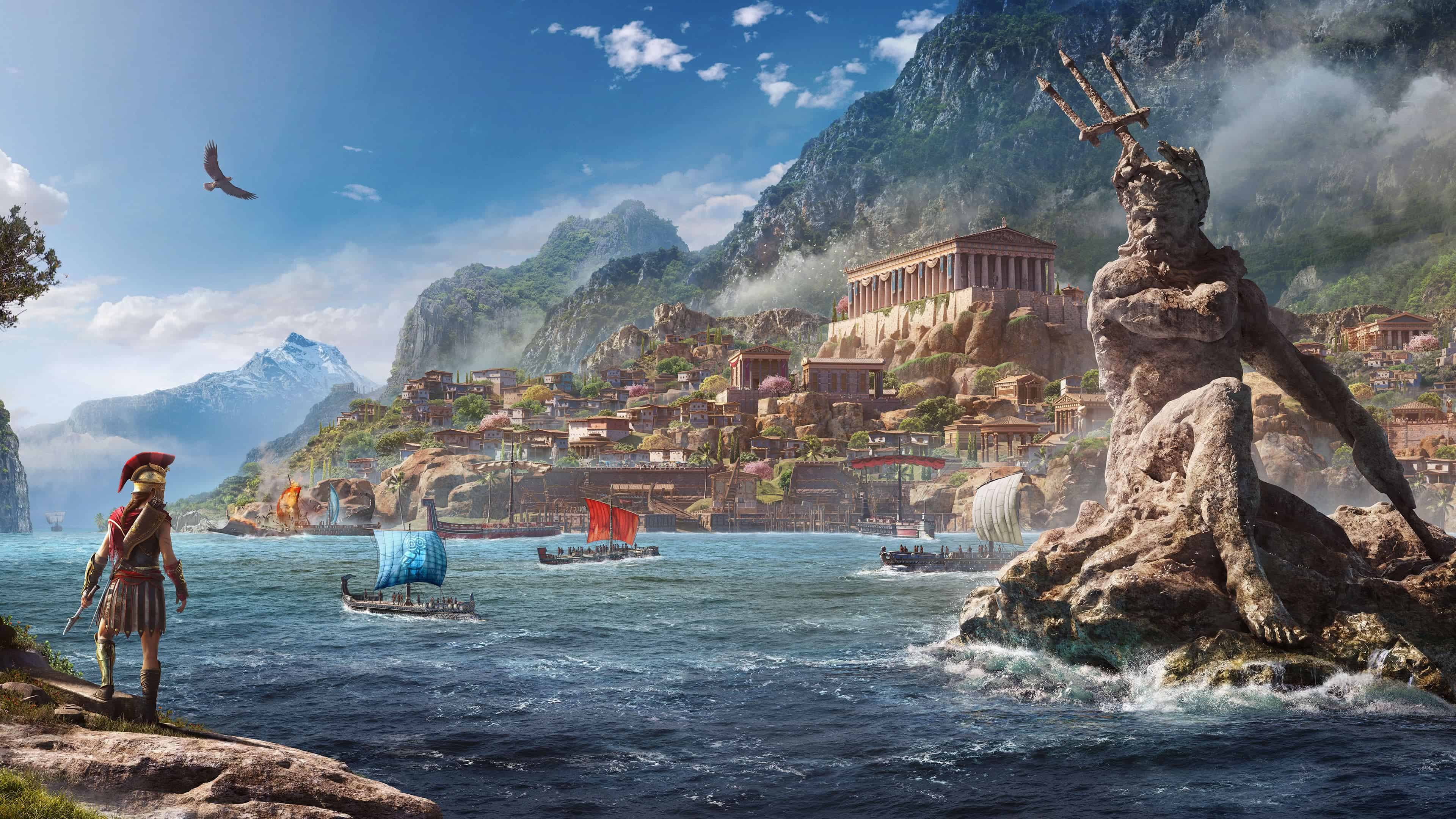 assassins creed odyssey uhd 4k wallpapers