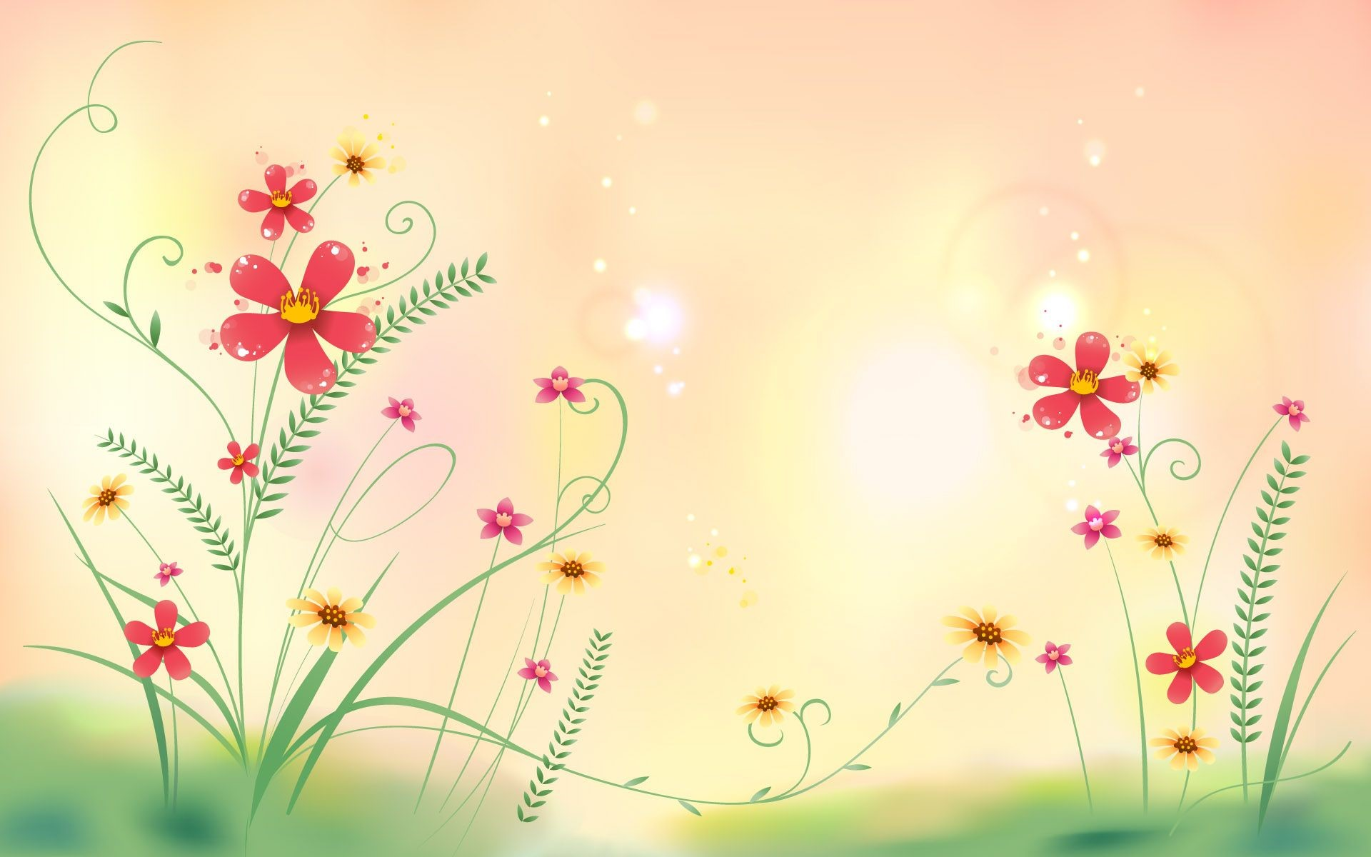 Abstract Floral HD Wallpapers