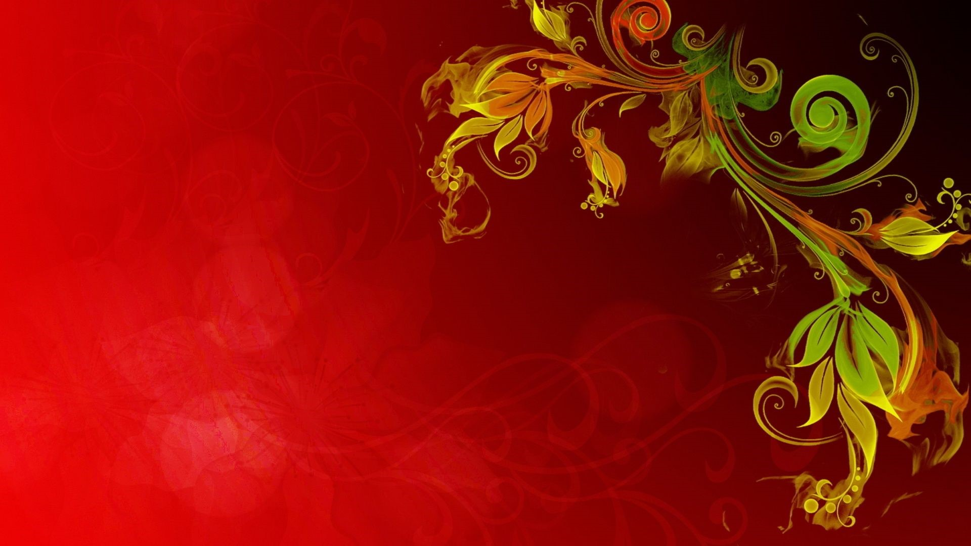 Abstract Floral UHD Wallpapers