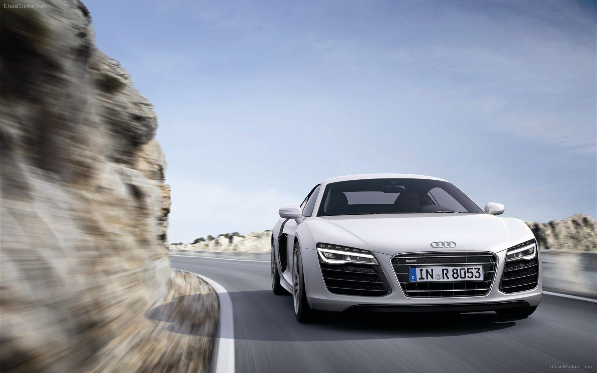 Audi R8 Front Android Wallpapers
