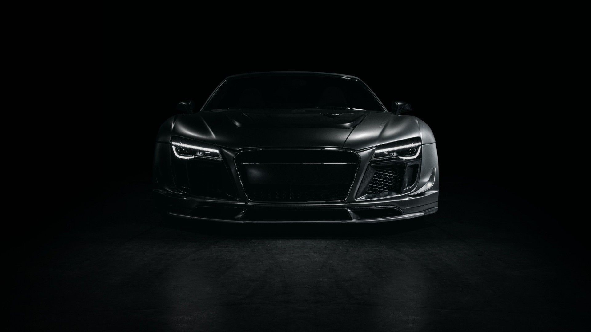 Audi R8 Front Background