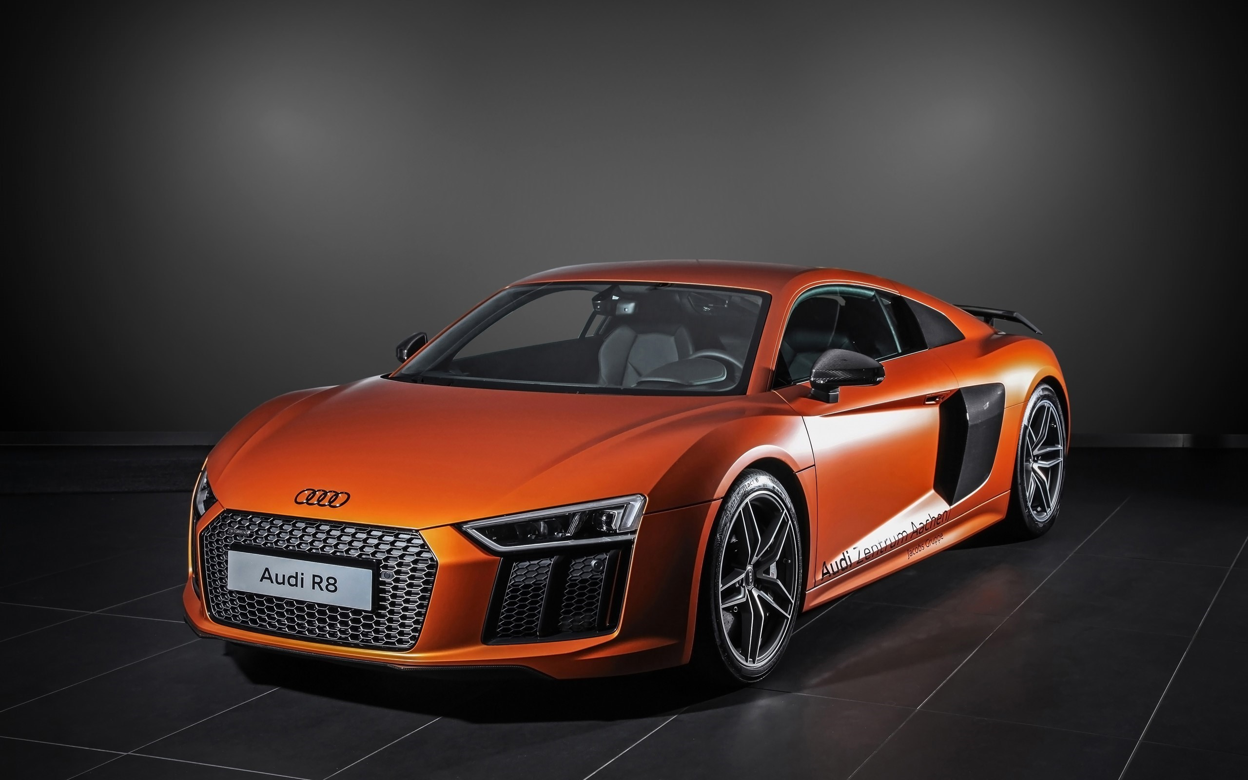 Audi R8 Front HD Background