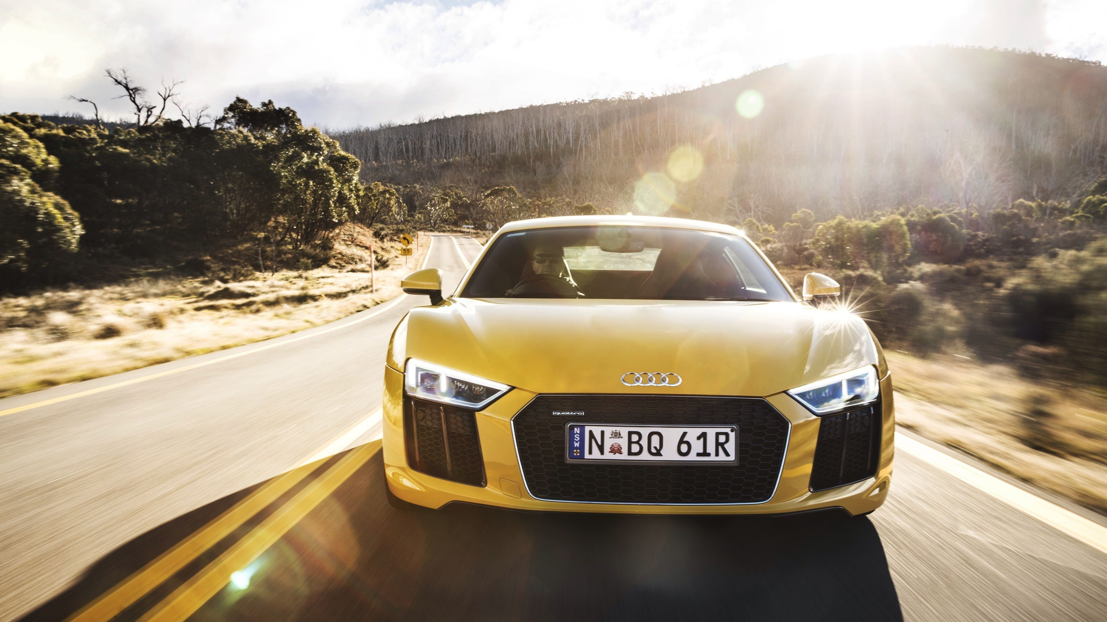 Audi R8 Front HD Wallpapers