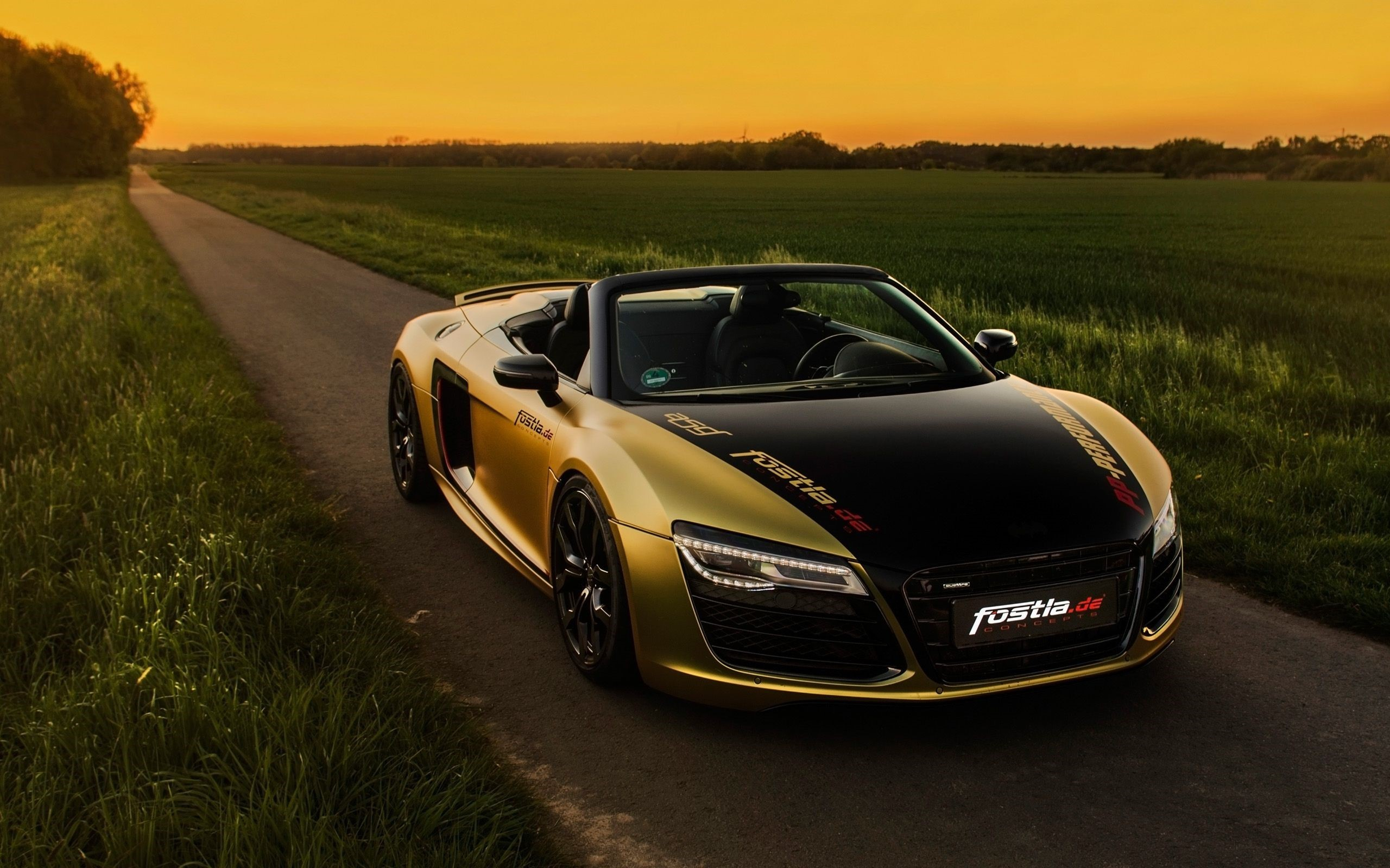 Audi R8 Front Phone Wallpapers