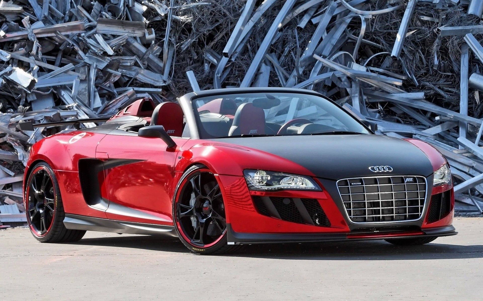 Audi R8 Front Wallpapers