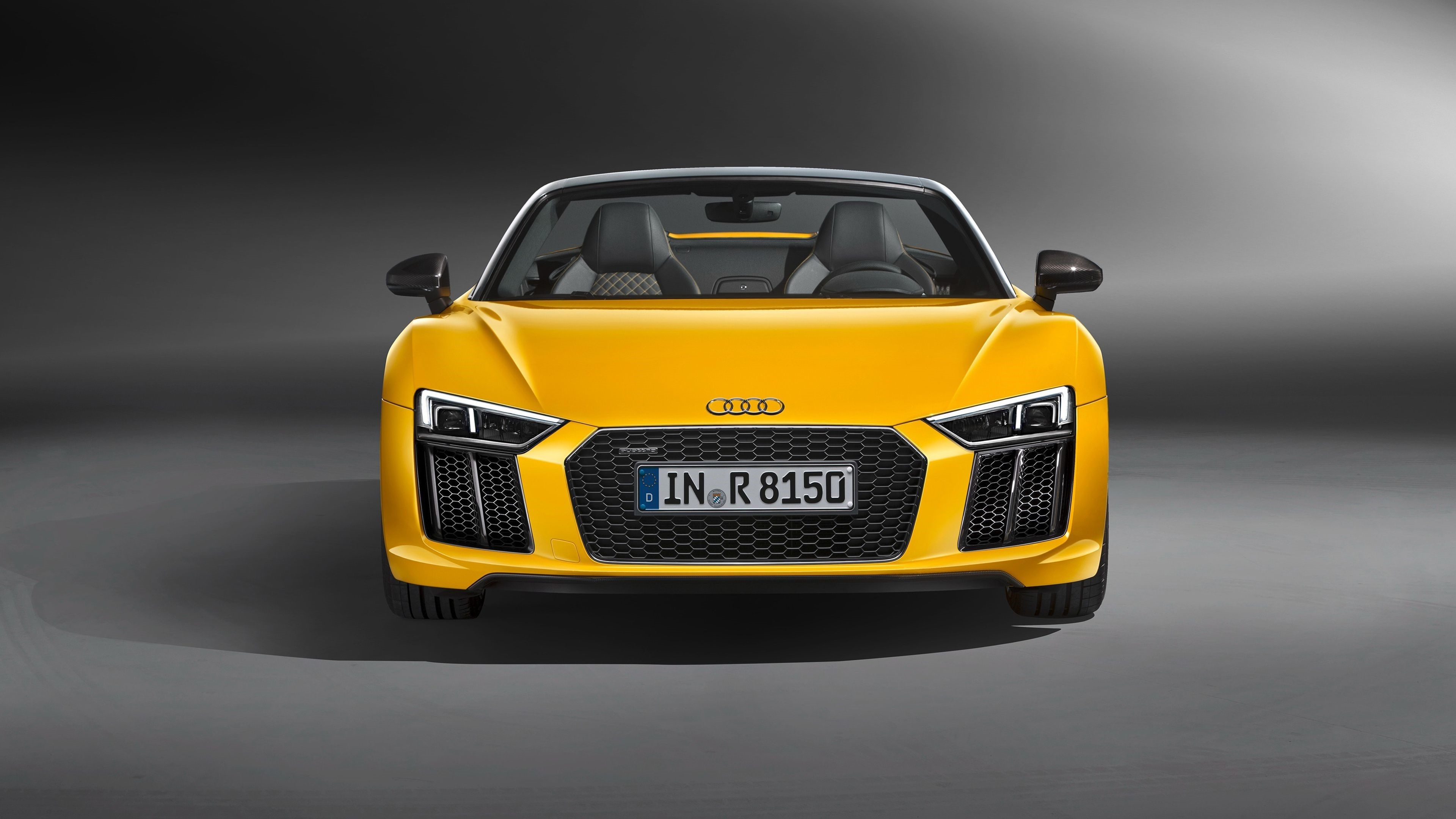 Audi R8 Front Windows Background