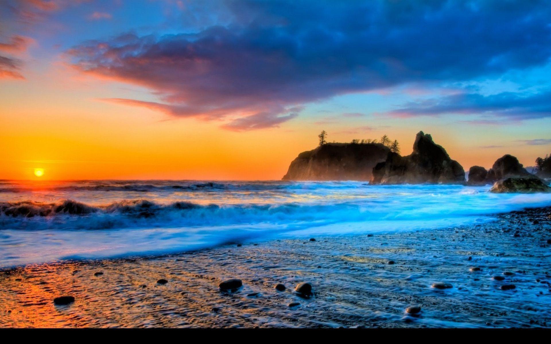 Beach Sunset Pics