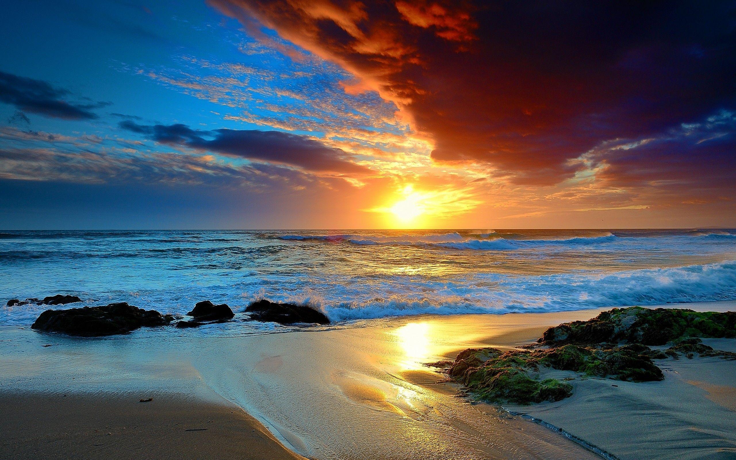 Beach Sunset UHD Wallpapers