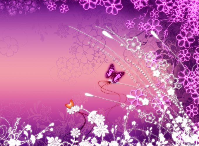 HD Butterfly Garden Pictures Windows Desktop Background Wallpapes