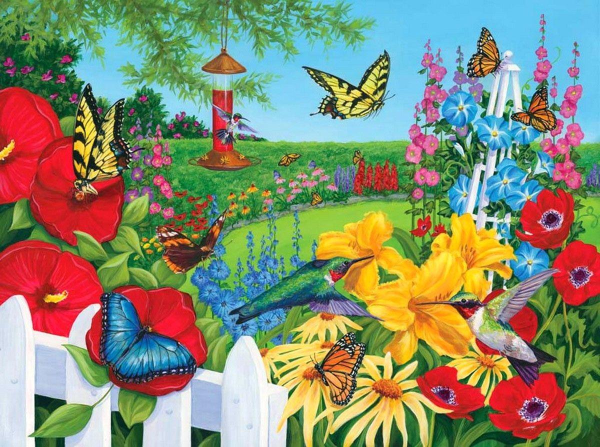 Butterfly Garden iphone Wallpapers