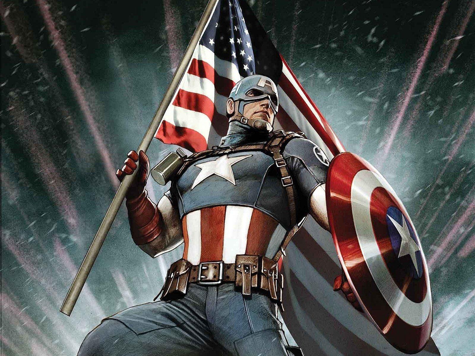 Captain America 4K Wallpapers