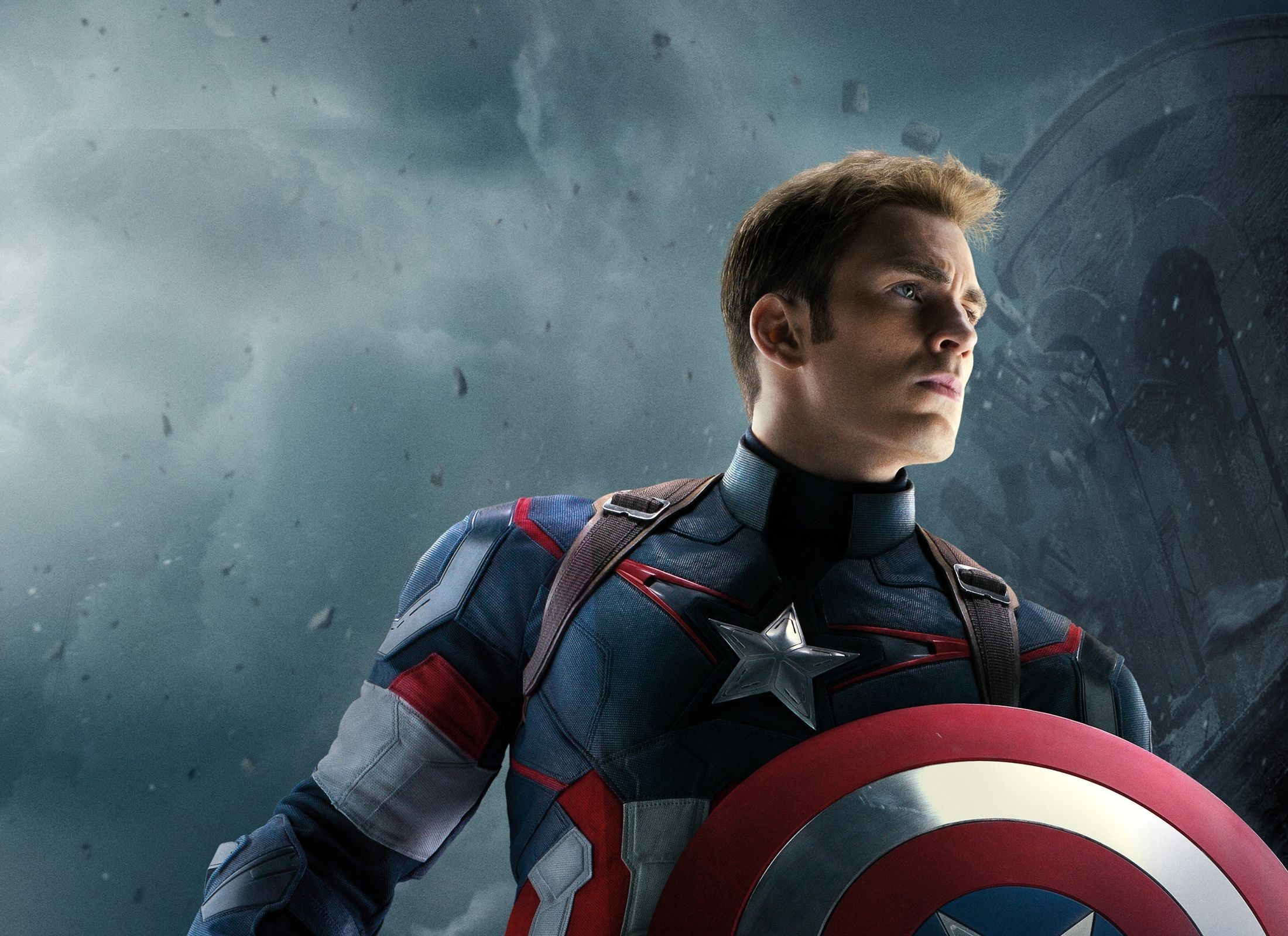 Captain America HD Background