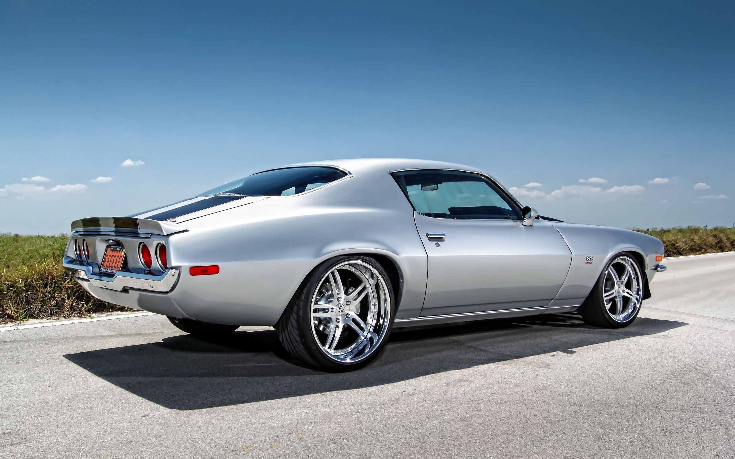 Chevy Muscle Car 4K Wallpapers