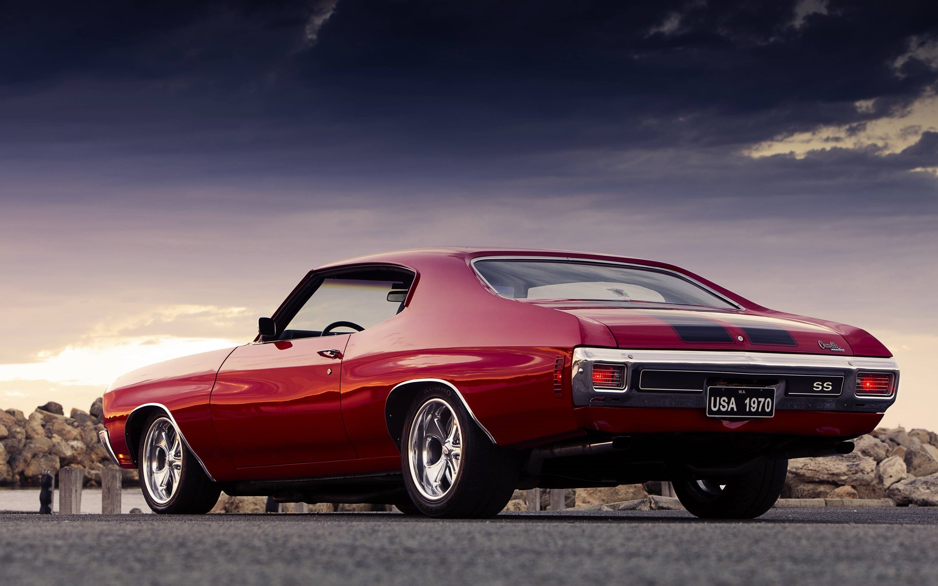 Chevy Muscle Car Free Wallpaper